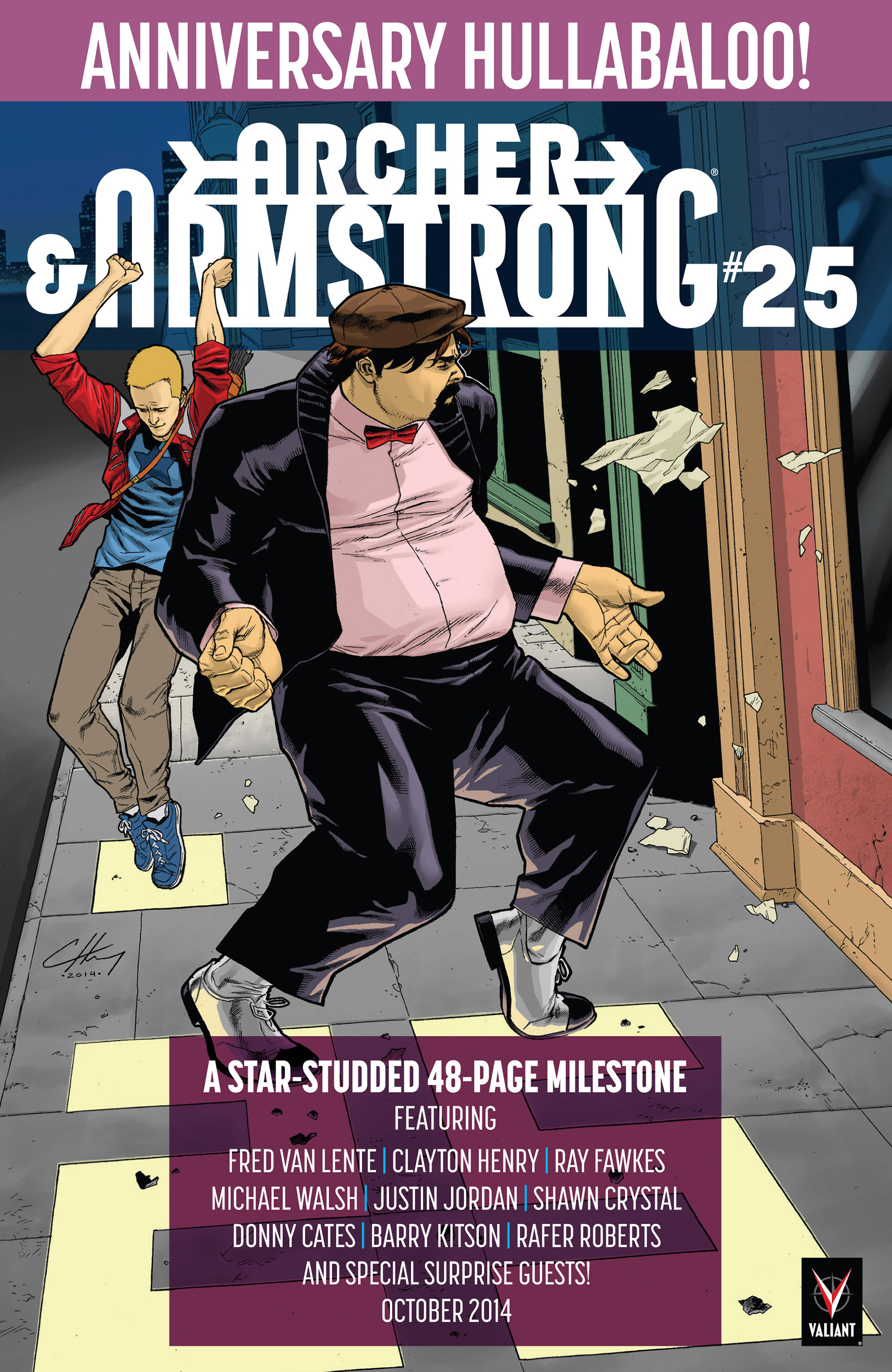 Read online Archer and Armstrong comic -  Issue #23 - 31