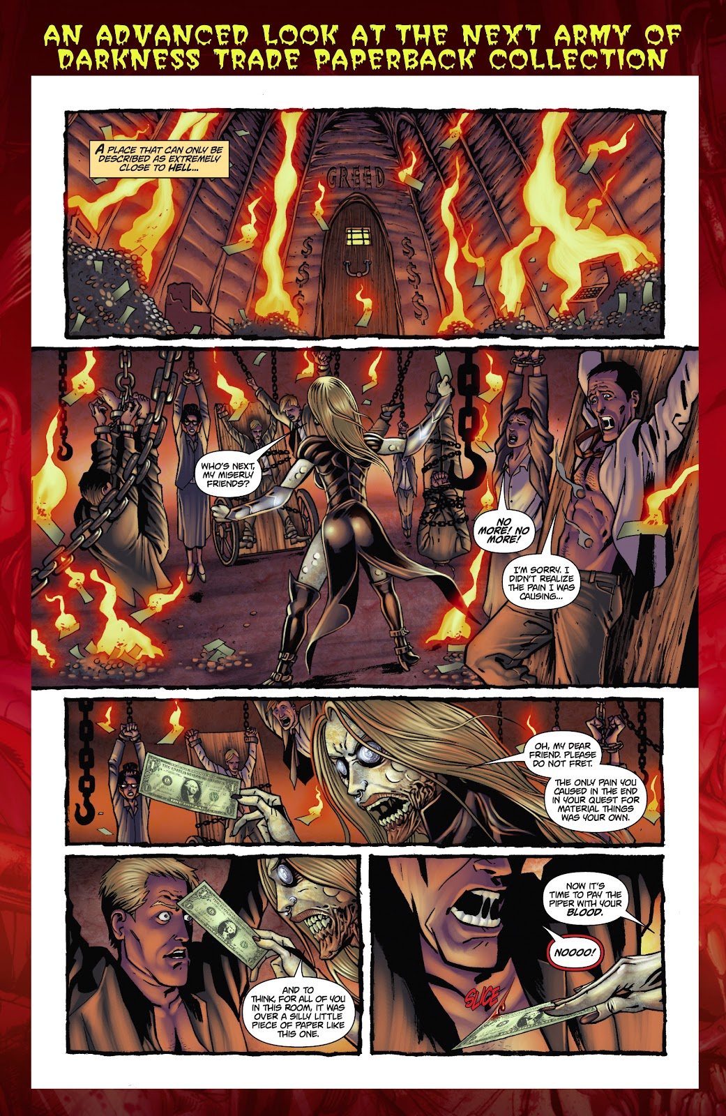 Army of Darkness: The Long Road Home issue TPB - Page 113