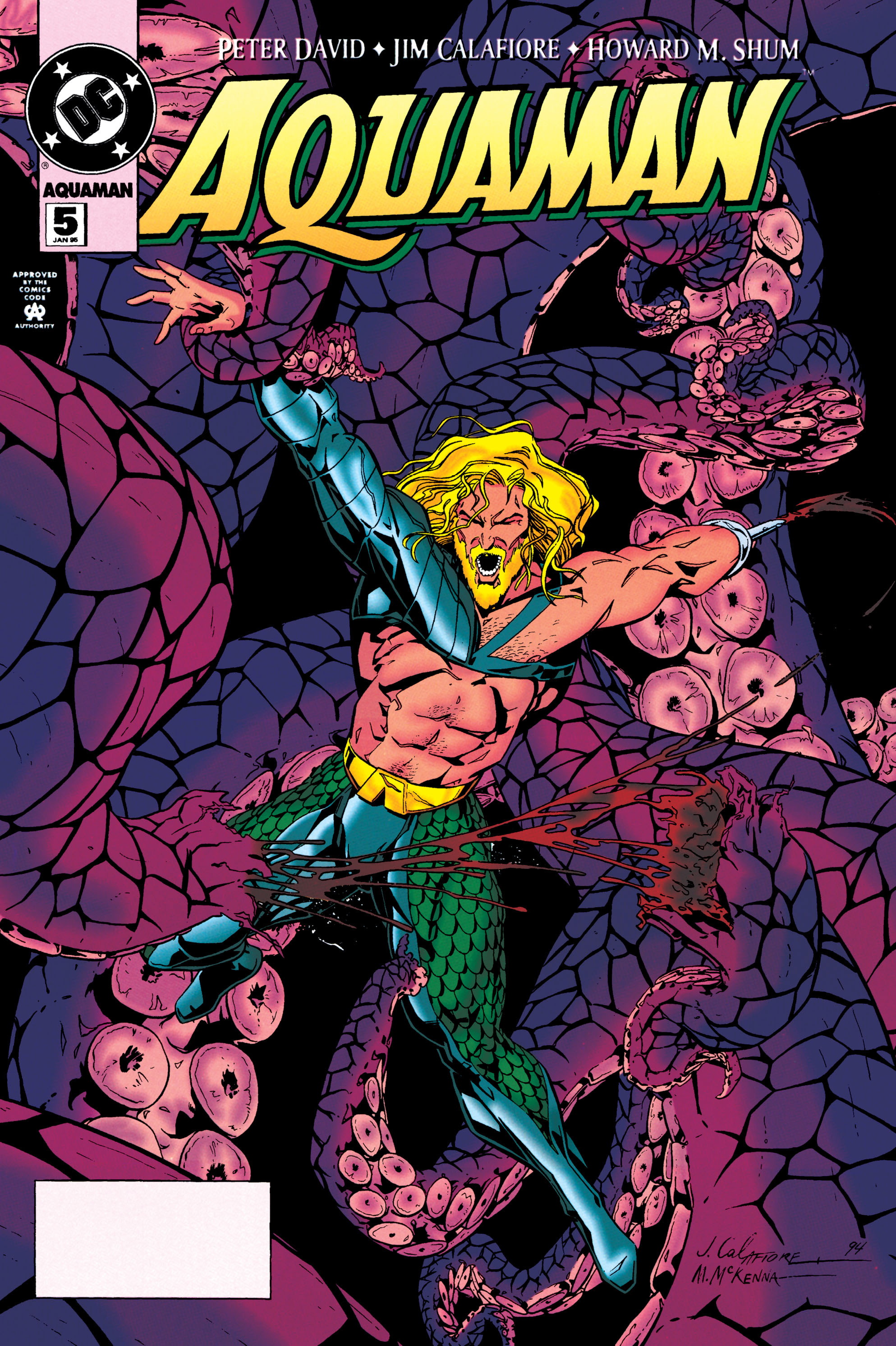 Aquaman (1994) 5 Page 1