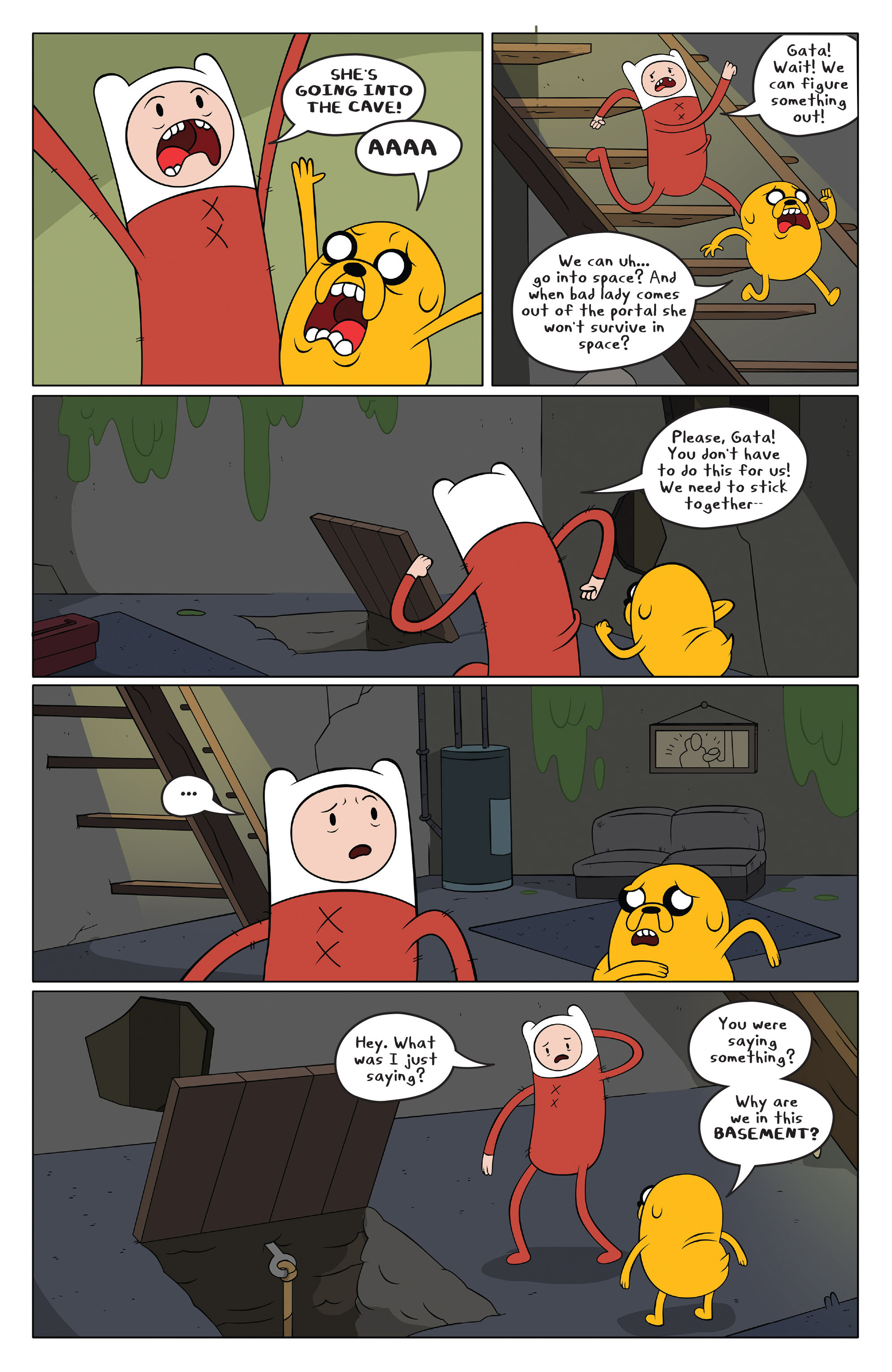 Read online Adventure Time comic -  Issue #49 - 18