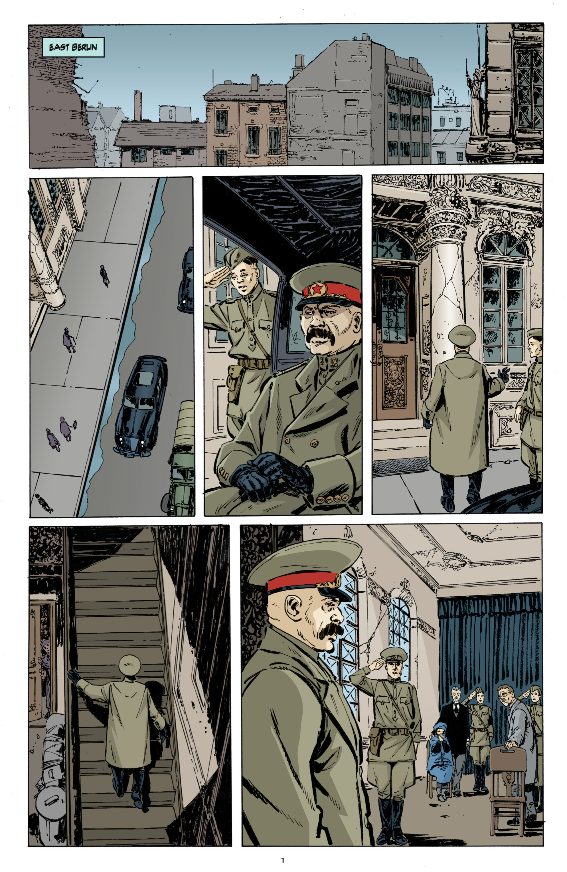 Read online Cold War comic -  Issue # TPB - 9