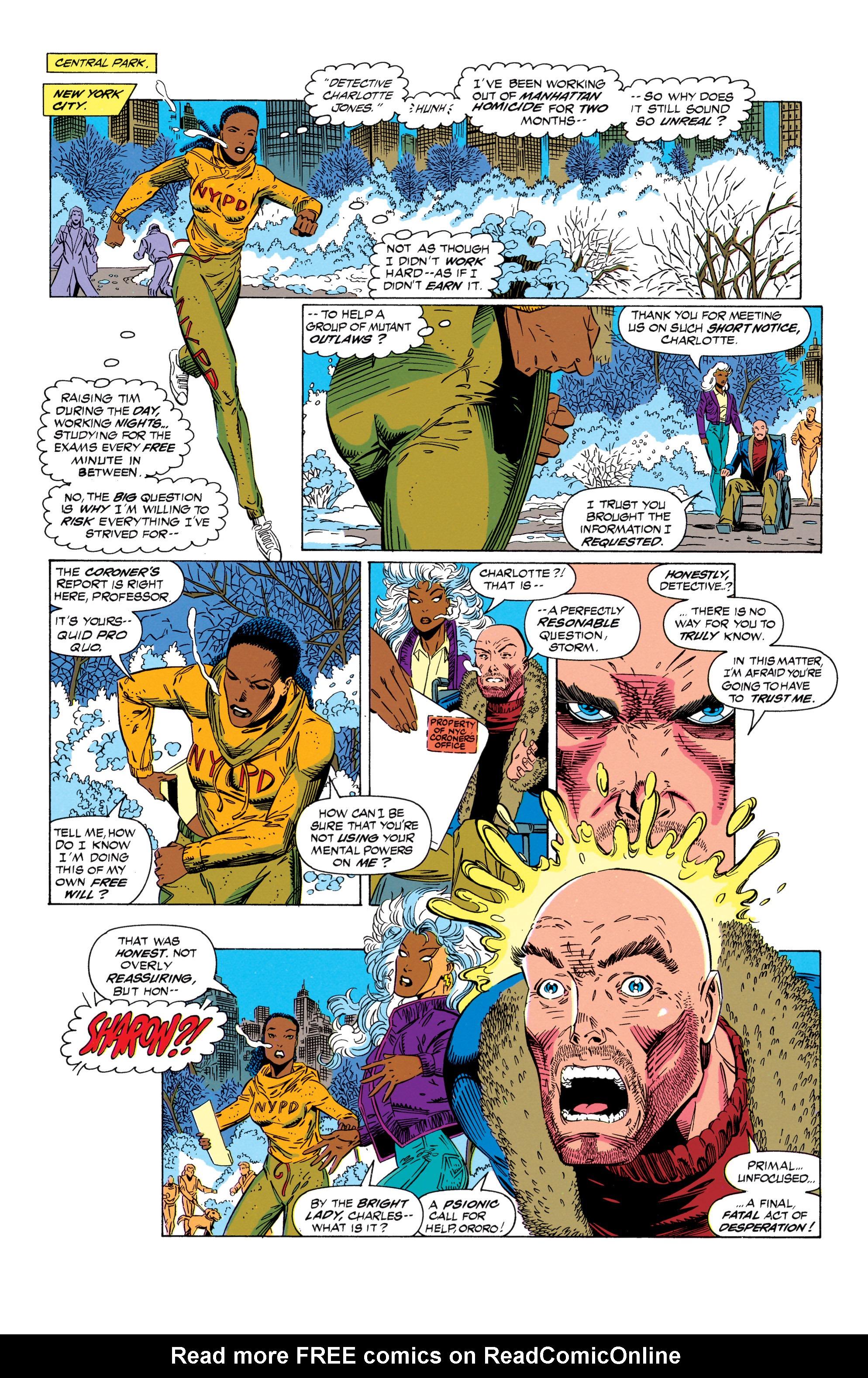 Read online Uncanny X-Men (1963) comic -  Issue #298 - 8