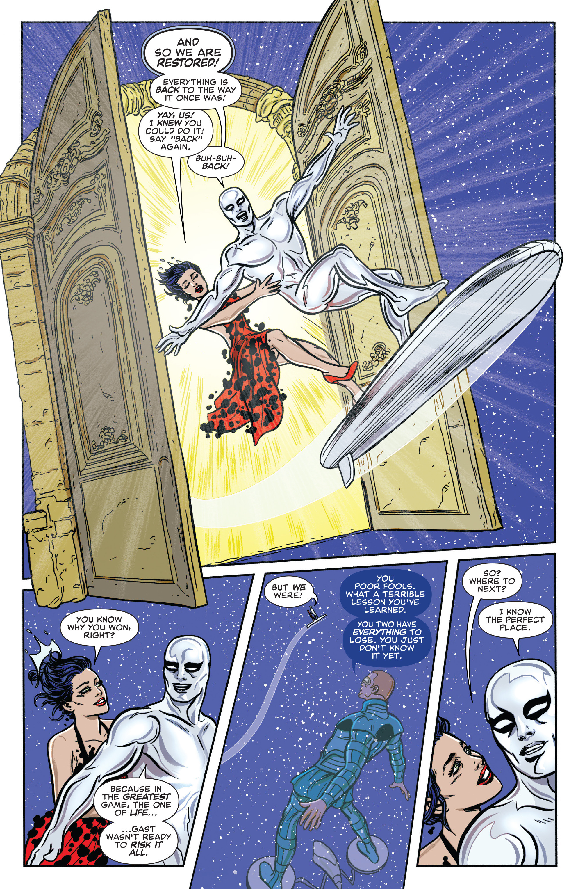 Read online Silver Surfer (2016) comic -  Issue #7 - 19