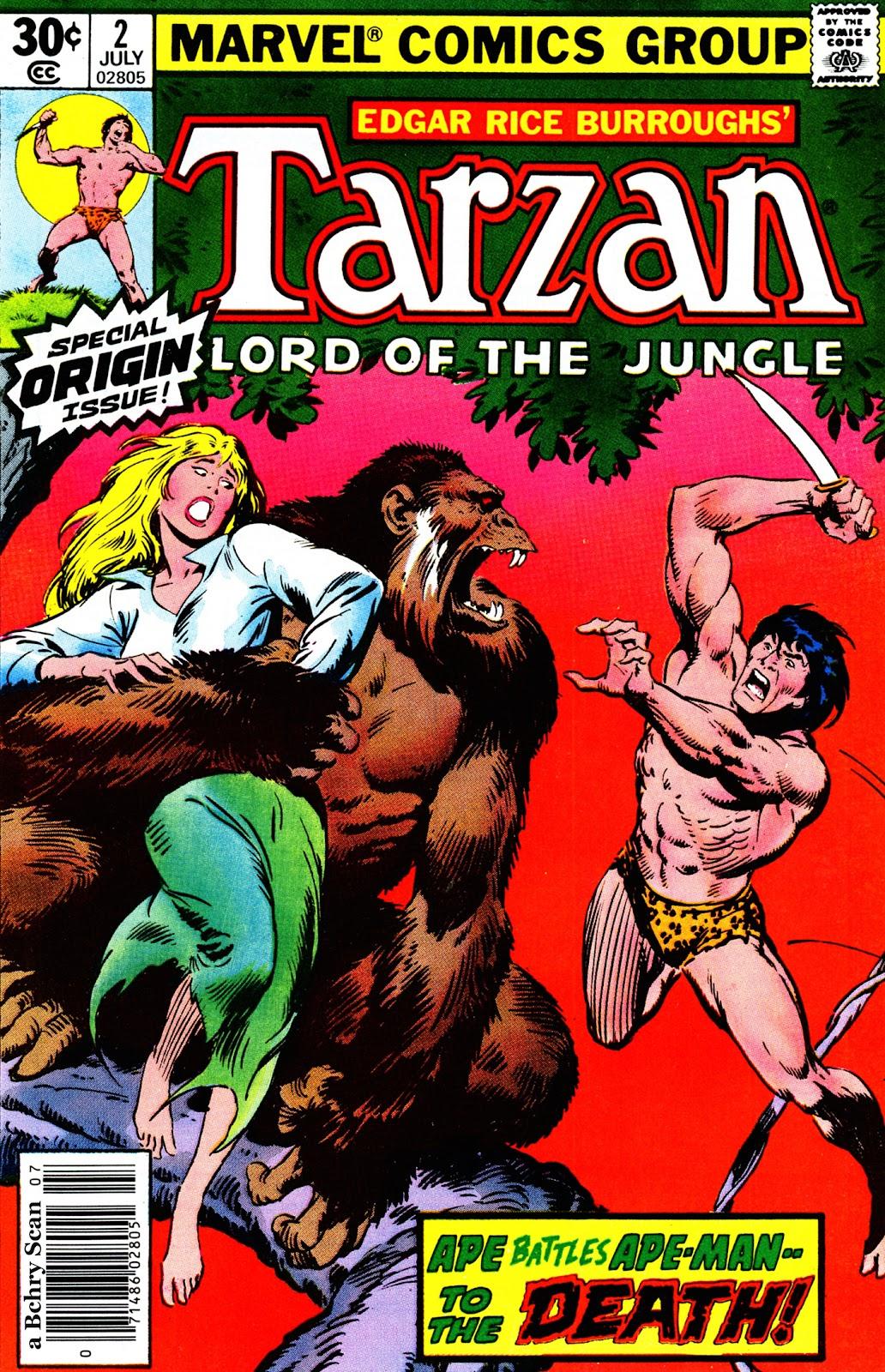 Tarzan (1977) issue 2 - Page 1