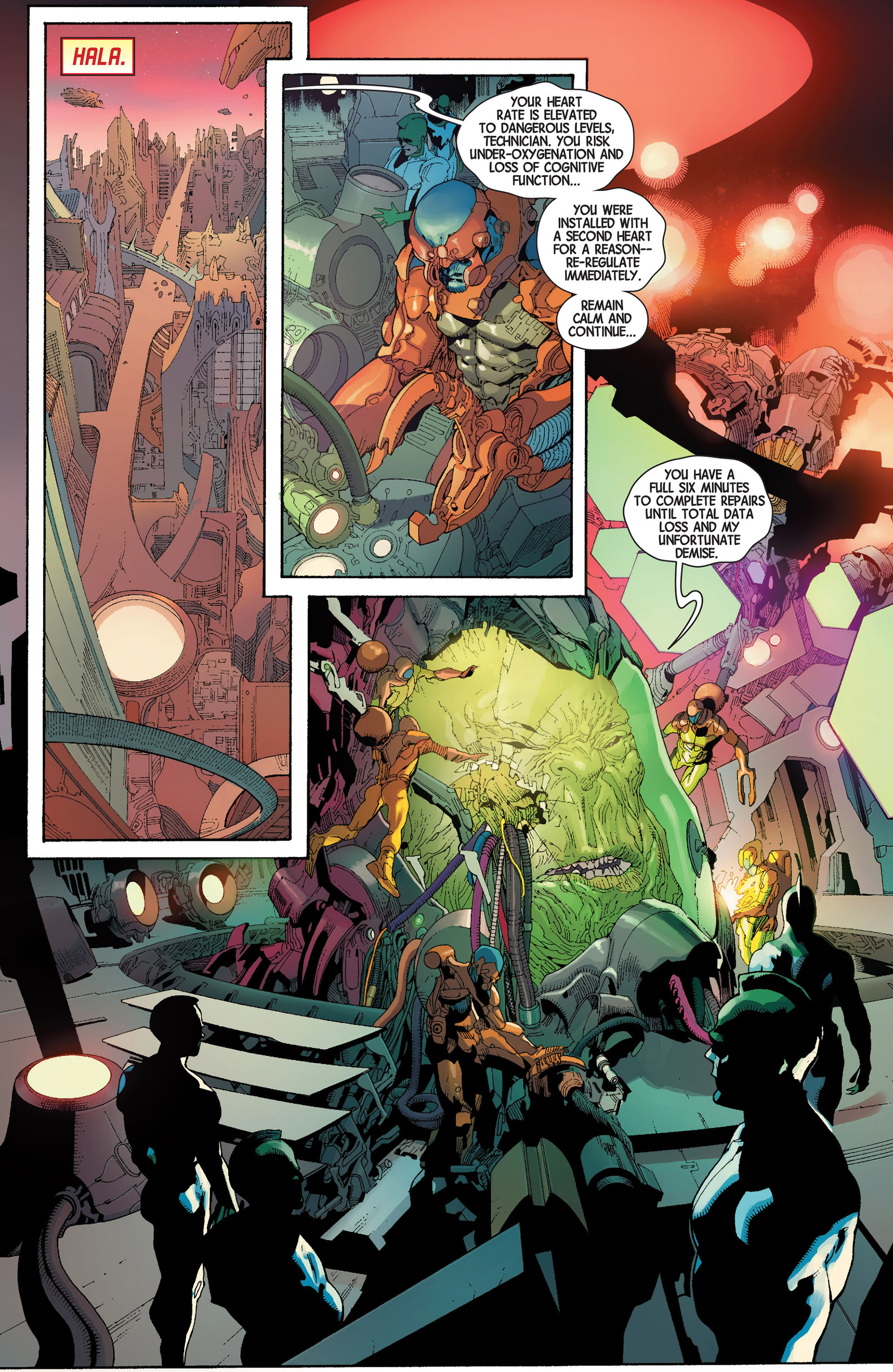 Read online Avengers (2013) comic -  Issue #21 - 8