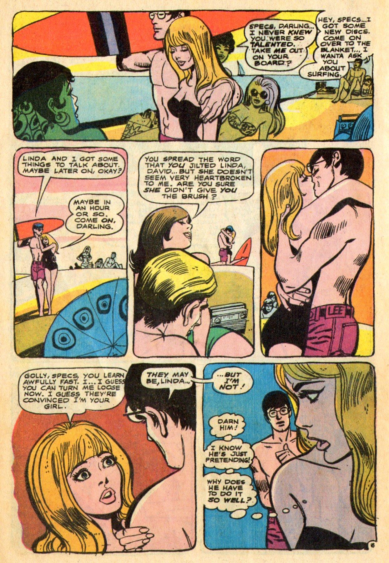 Read online Secret Hearts comic -  Issue #136 - 8