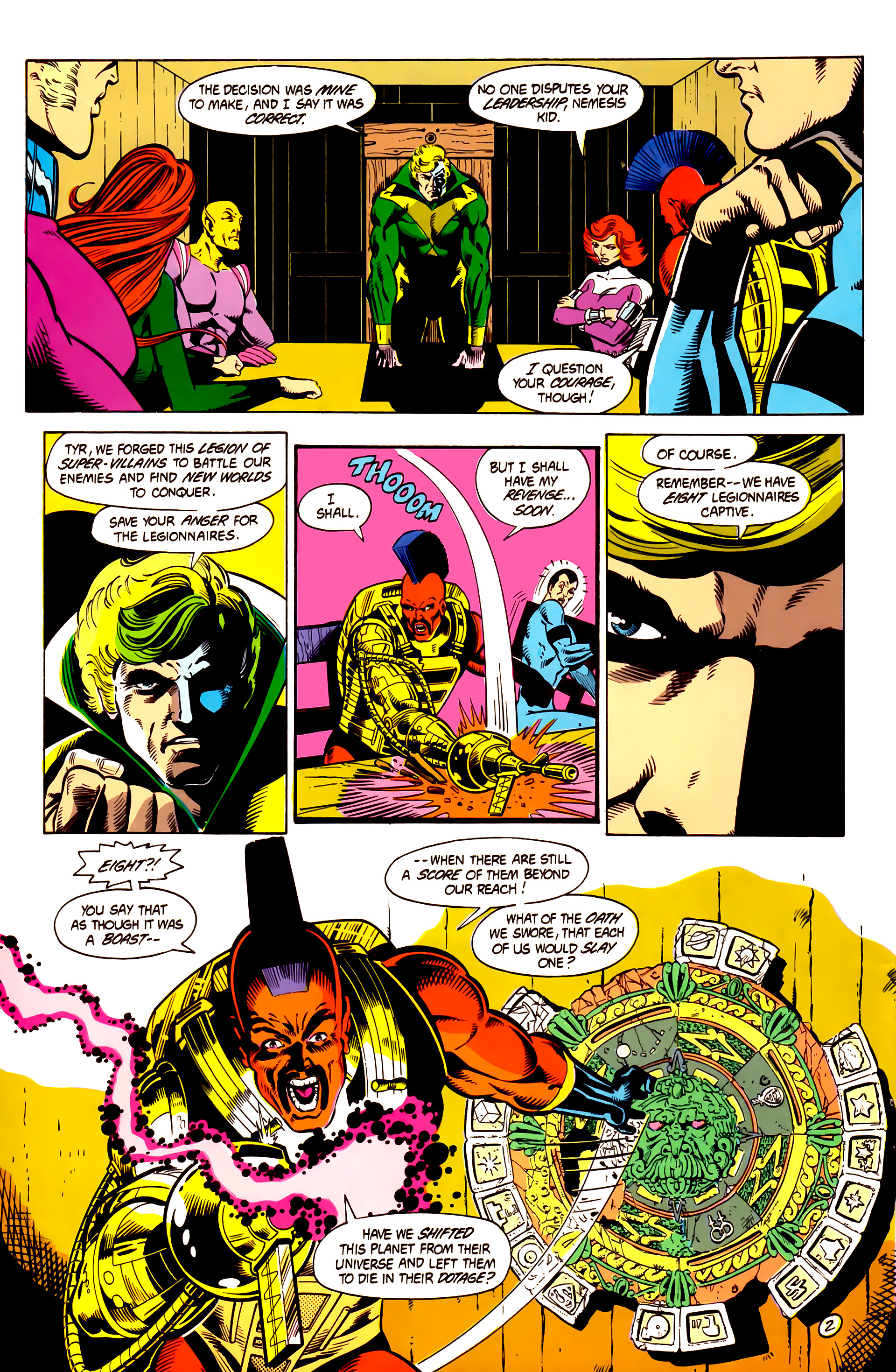 Legion of Super-Heroes (1984) 4 Page 3