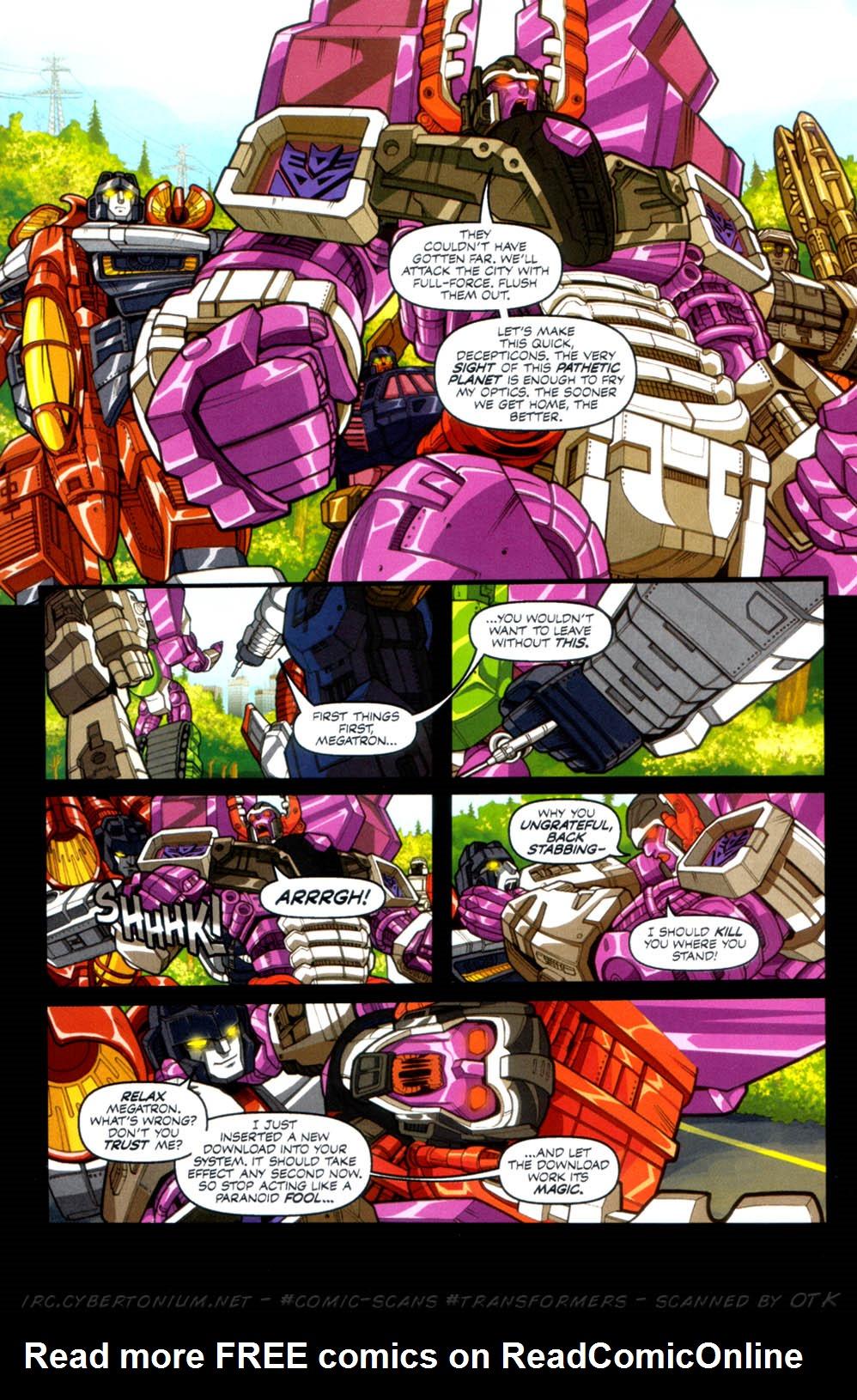 Read online Transformers Armada comic -  Issue #4 - 18