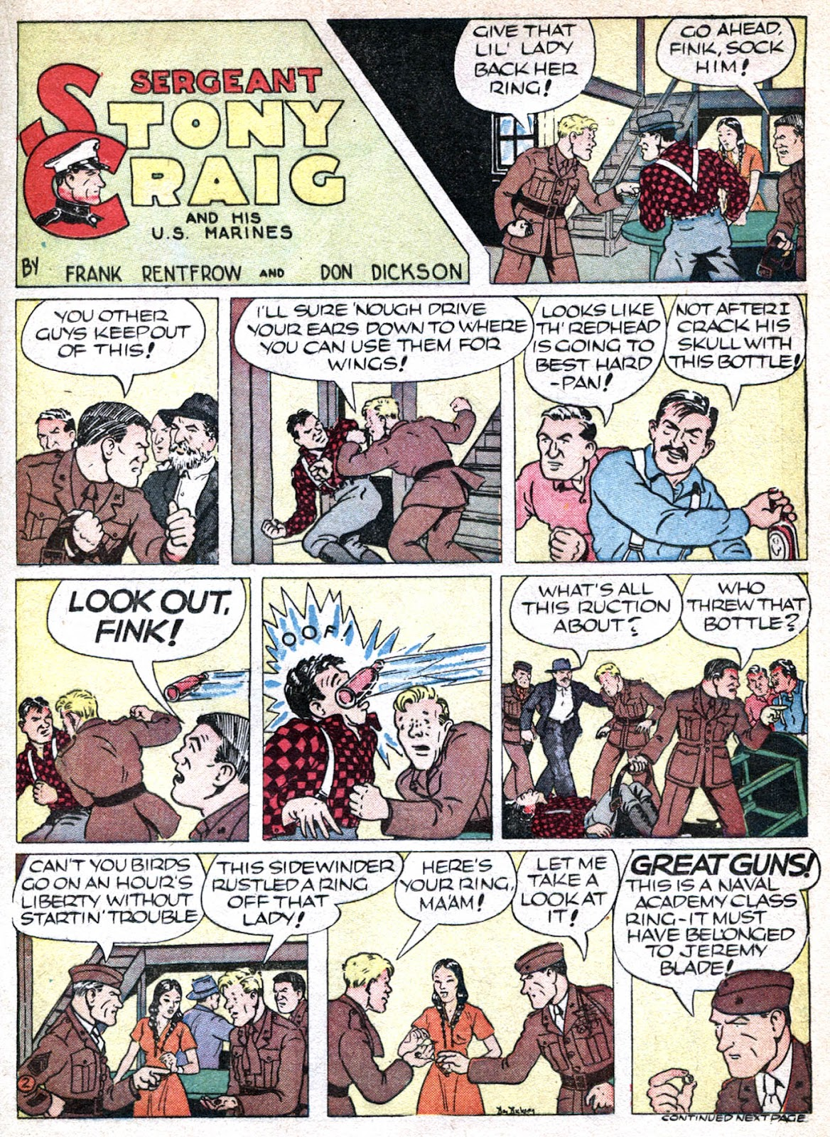 Read online Famous Funnies comic -  Issue #66 - 21