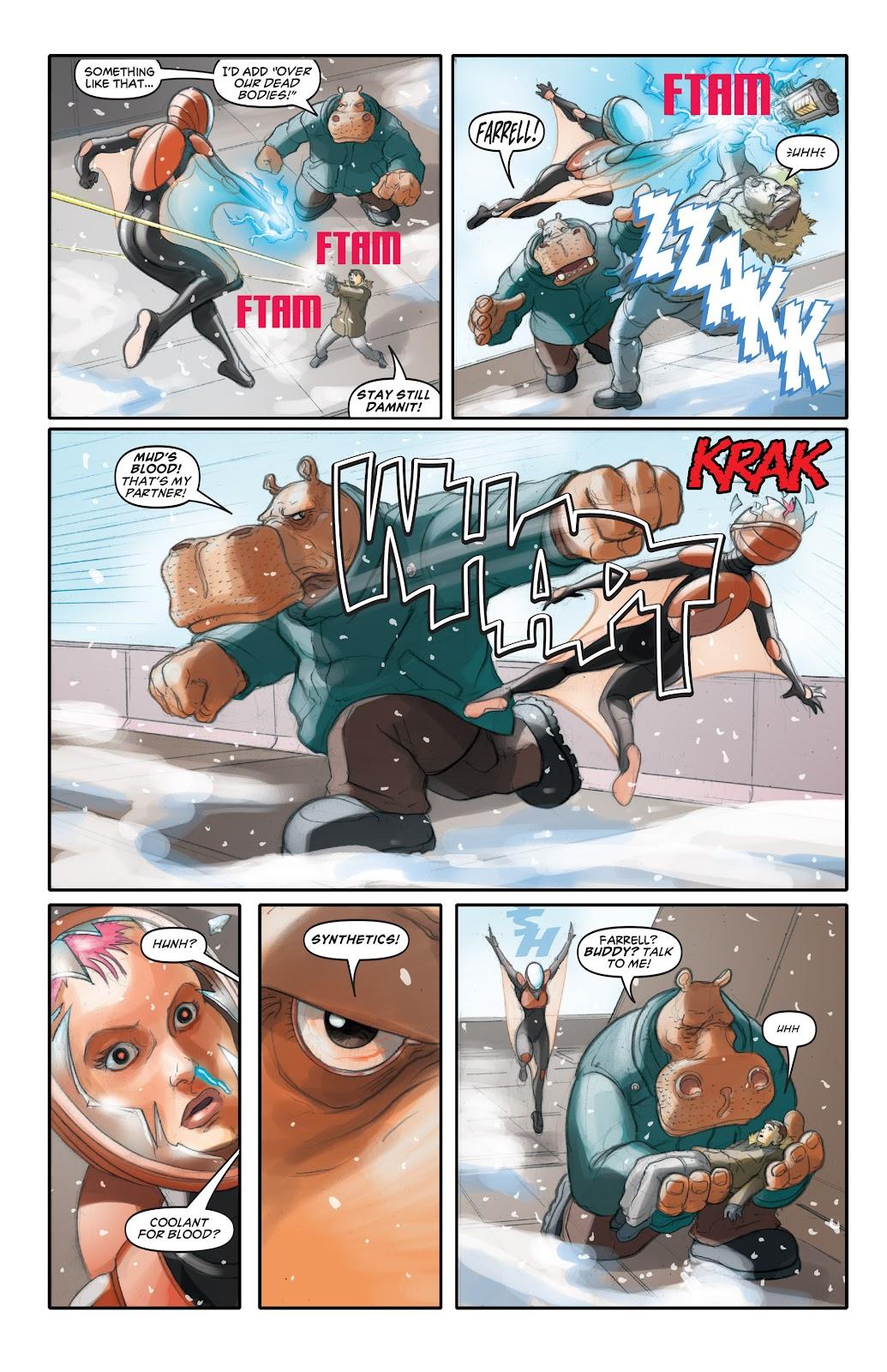 Read online Elephantmen 2261 Season Two: The Pentalion Job comic -  Issue # TPB - 39