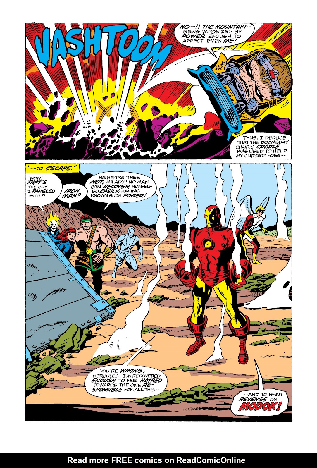 Read online Marvel Masterworks: The Invincible Iron Man comic -  Issue # TPB 11 (Part 3) - 113