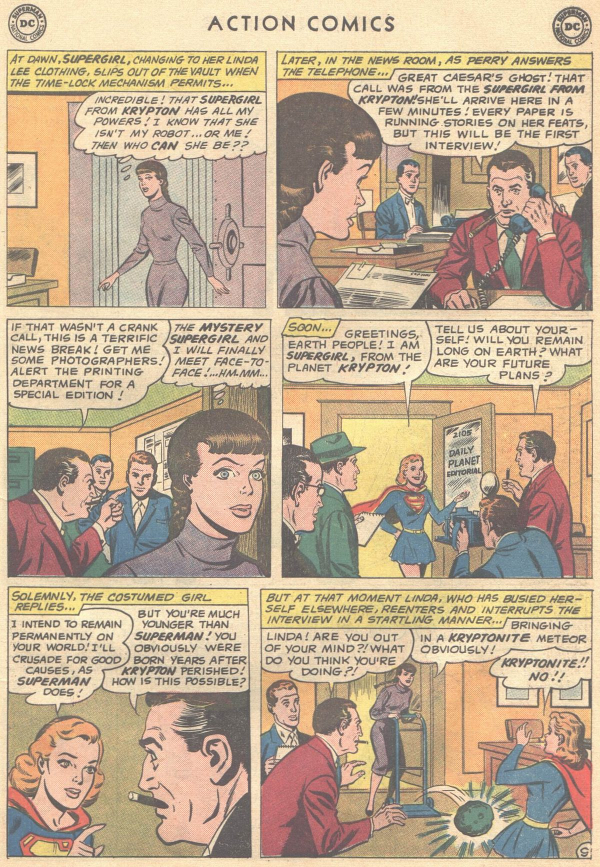 Read online Action Comics (1938) comic -  Issue #268 - 27