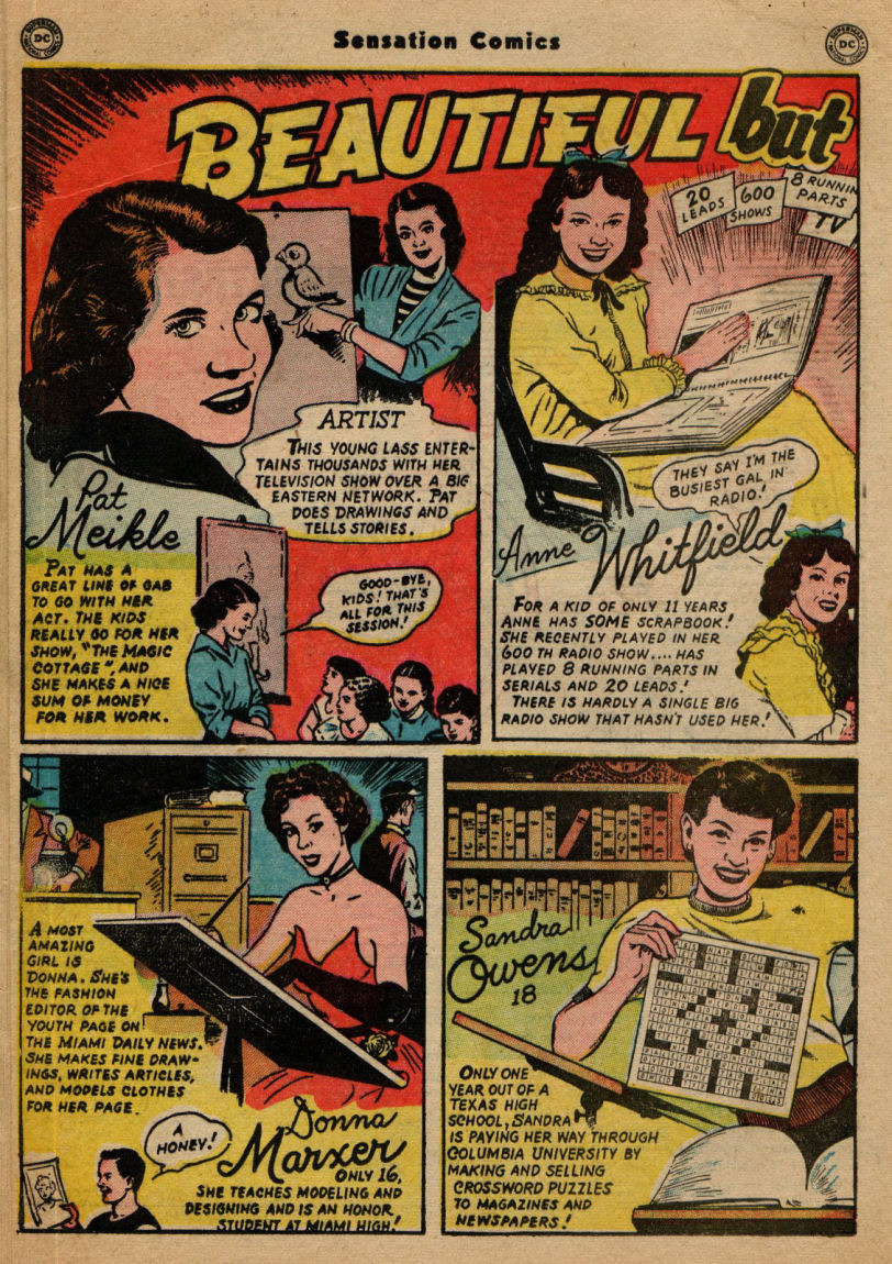 Read online Sensation (Mystery) Comics comic -  Issue #100 - 28