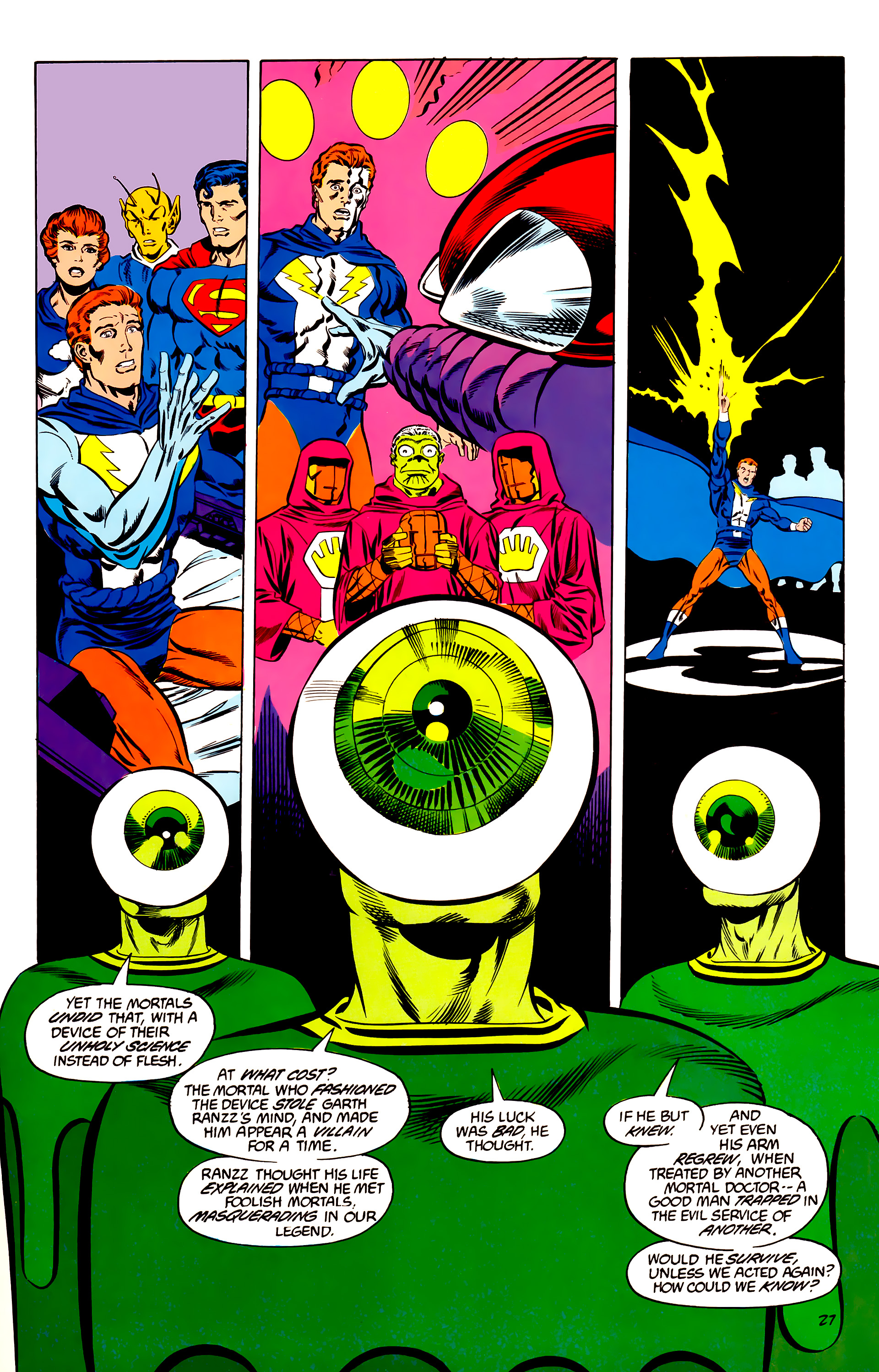 Legion of Super-Heroes (1984) 45 Page 27