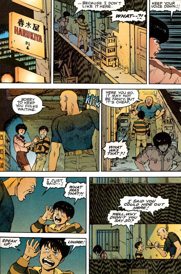 Read online Akira comic -  Issue #3 - 59
