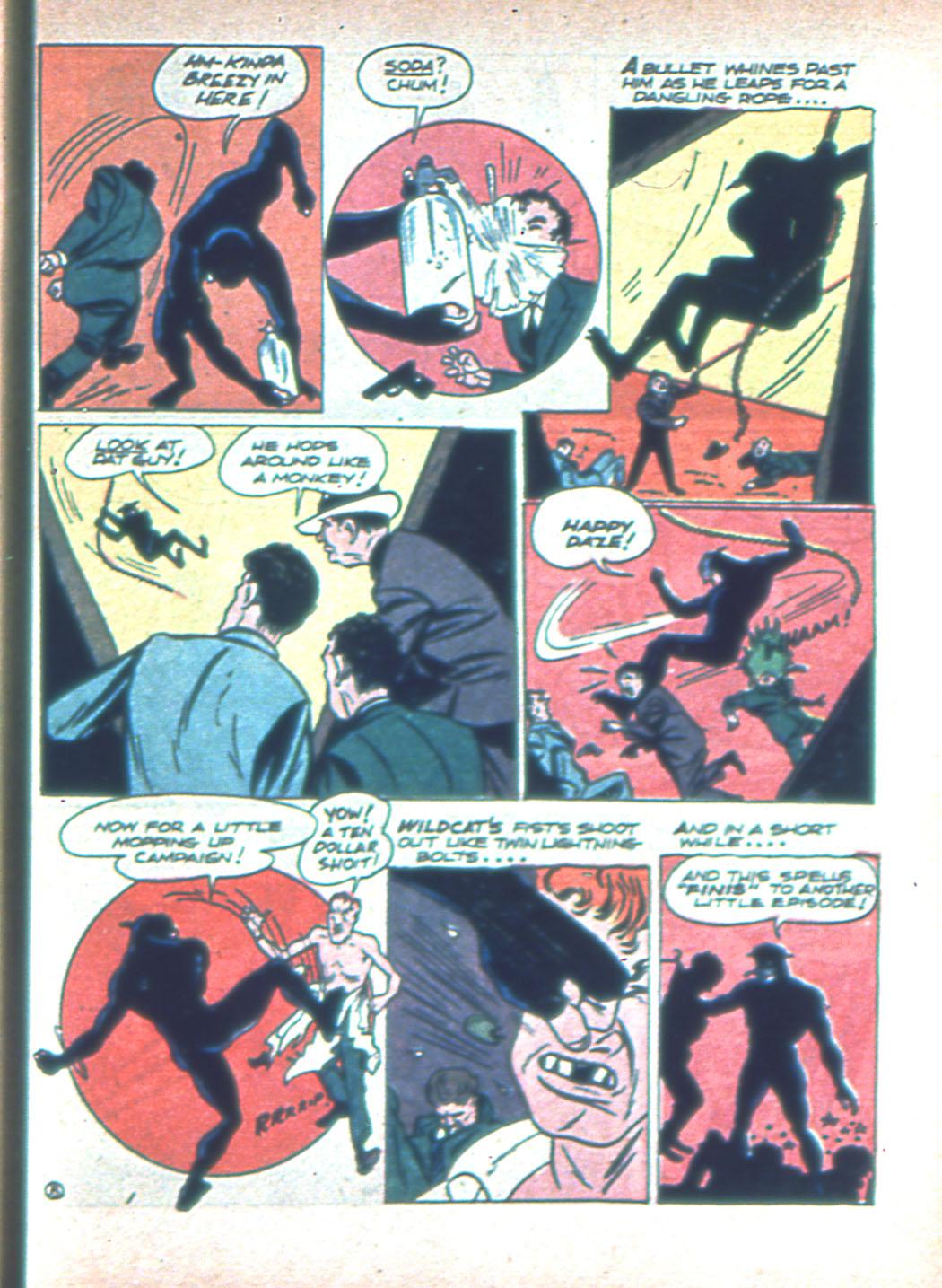 Read online Sensation (Mystery) Comics comic -  Issue #2 - 63