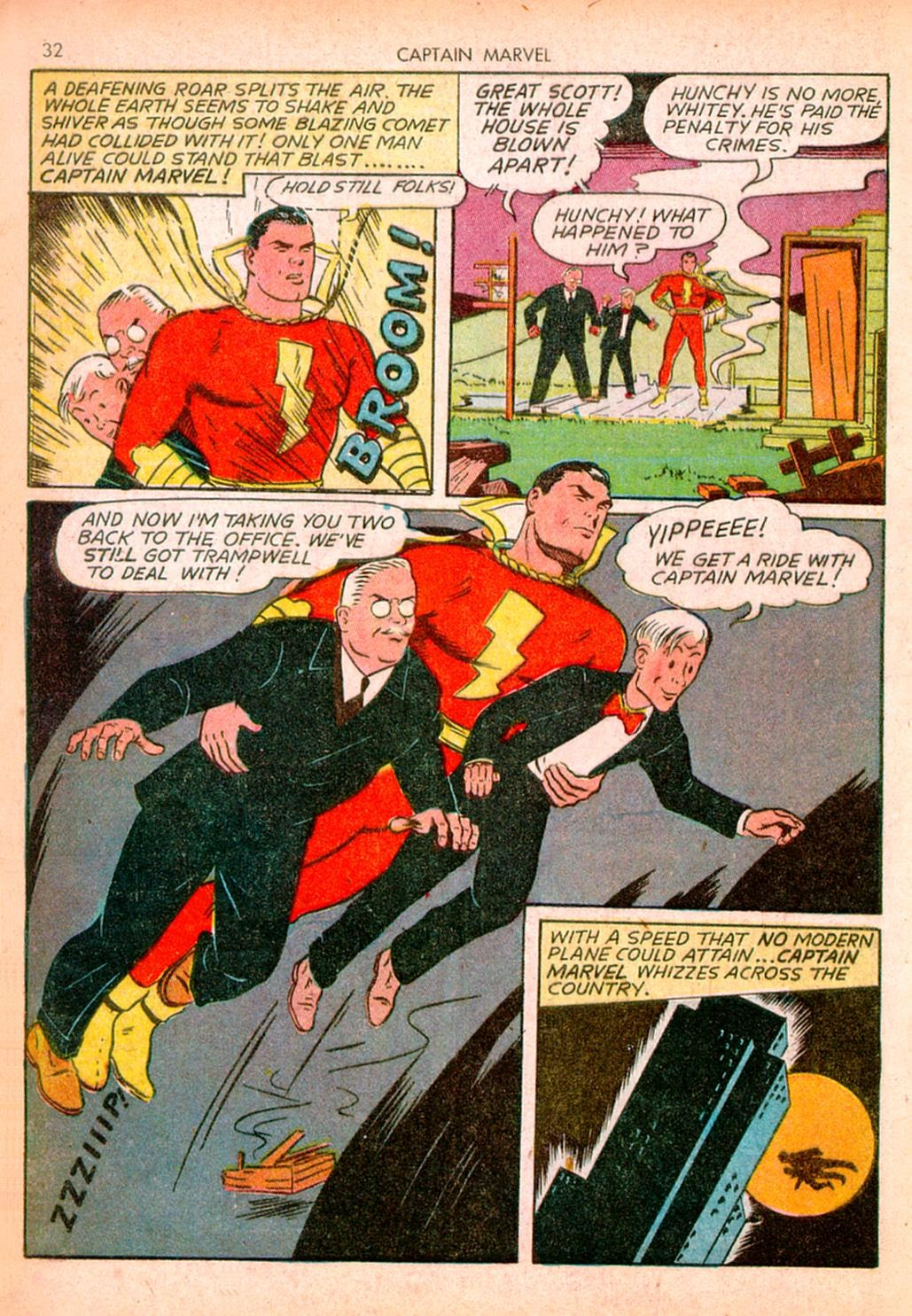 Captain Marvel Adventures issue 10 - Page 32