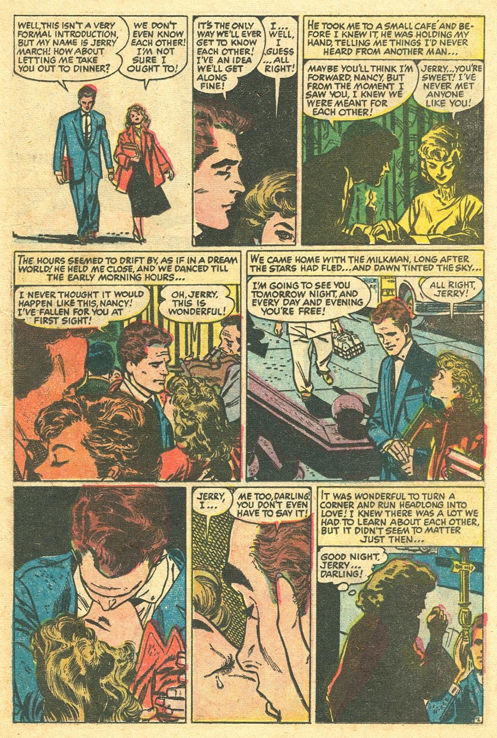 Love Romances (1949) issue 48 - Page 21