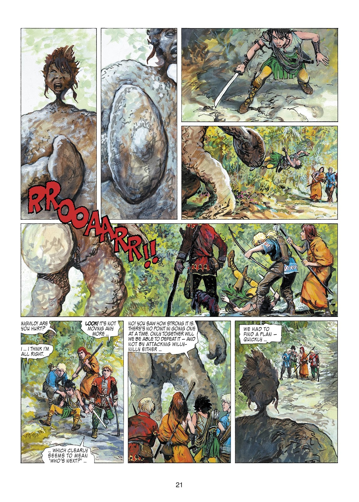 Read online Thorgal comic -  Issue #22 - 23