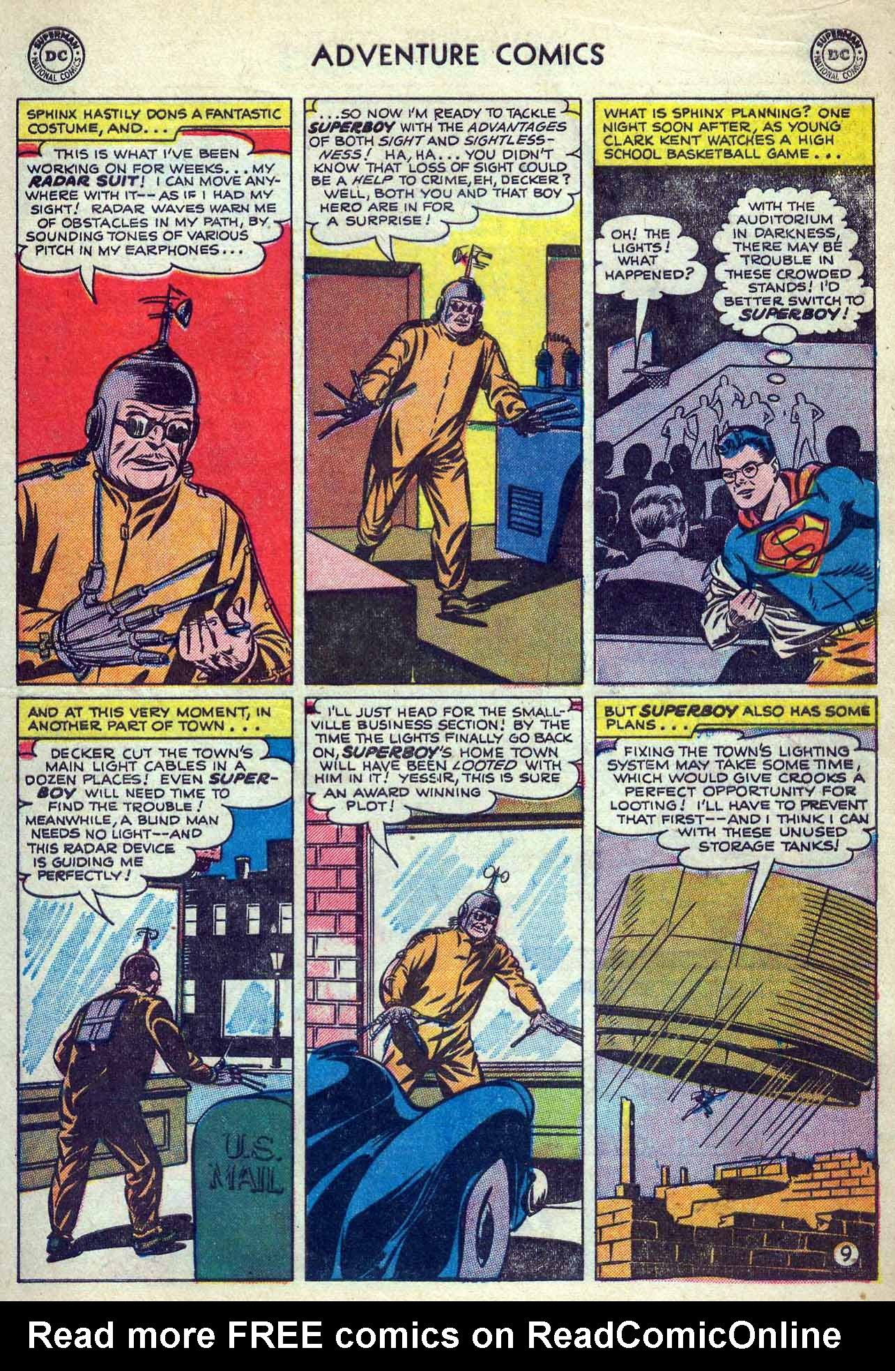 Read online Adventure Comics (1938) comic -  Issue #180 - 11