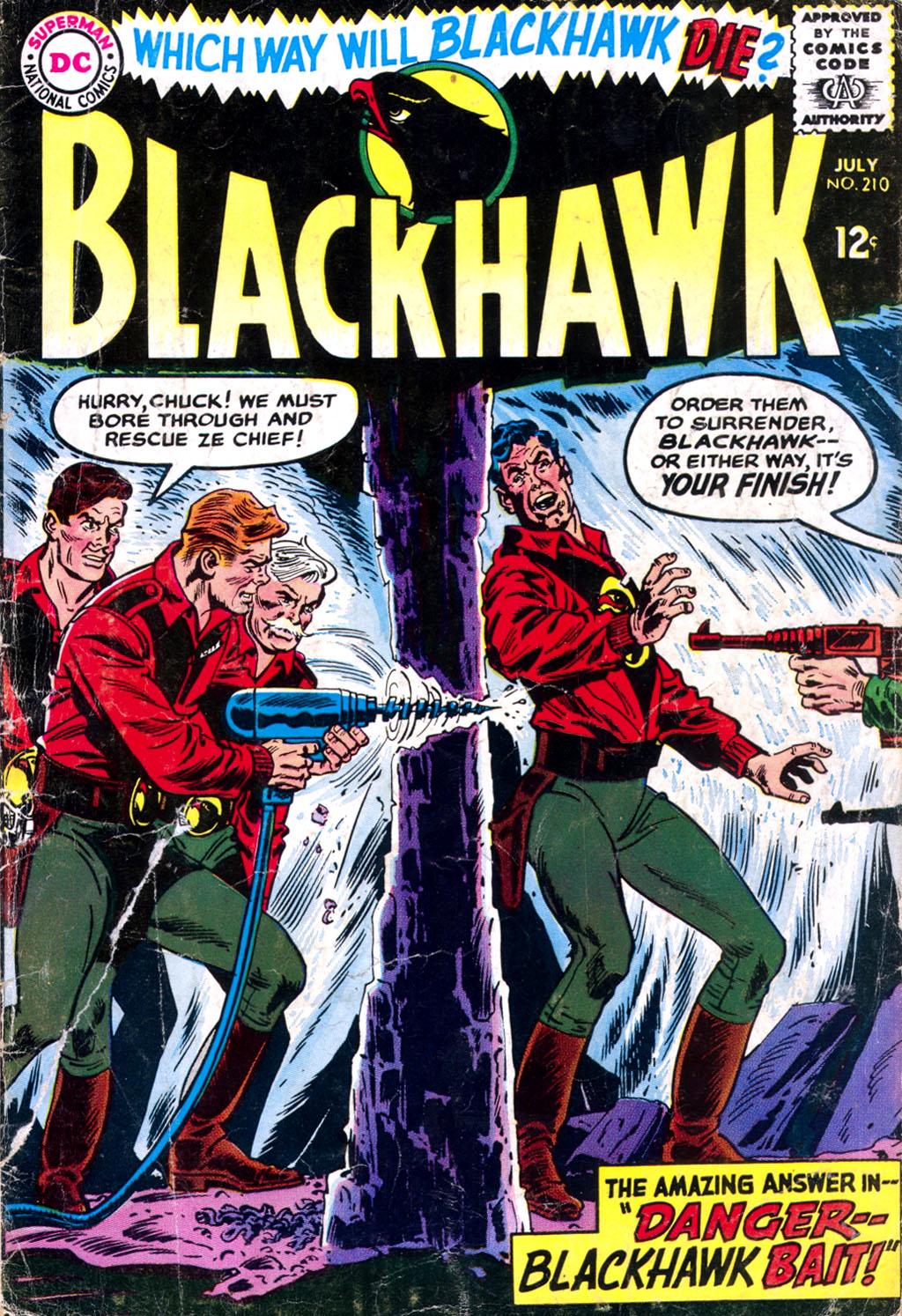 Blackhawk (1957) 210 Page 1