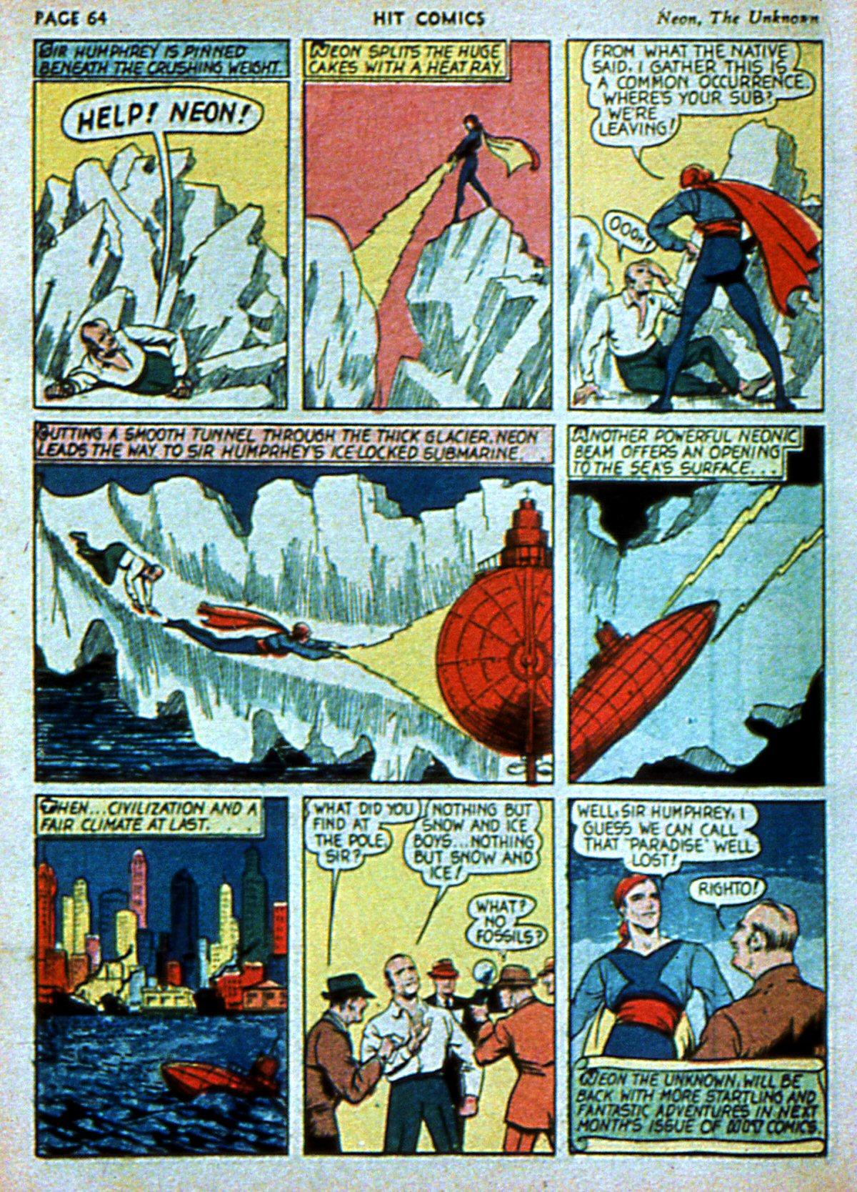 Read online Hit Comics comic -  Issue #3 - 66