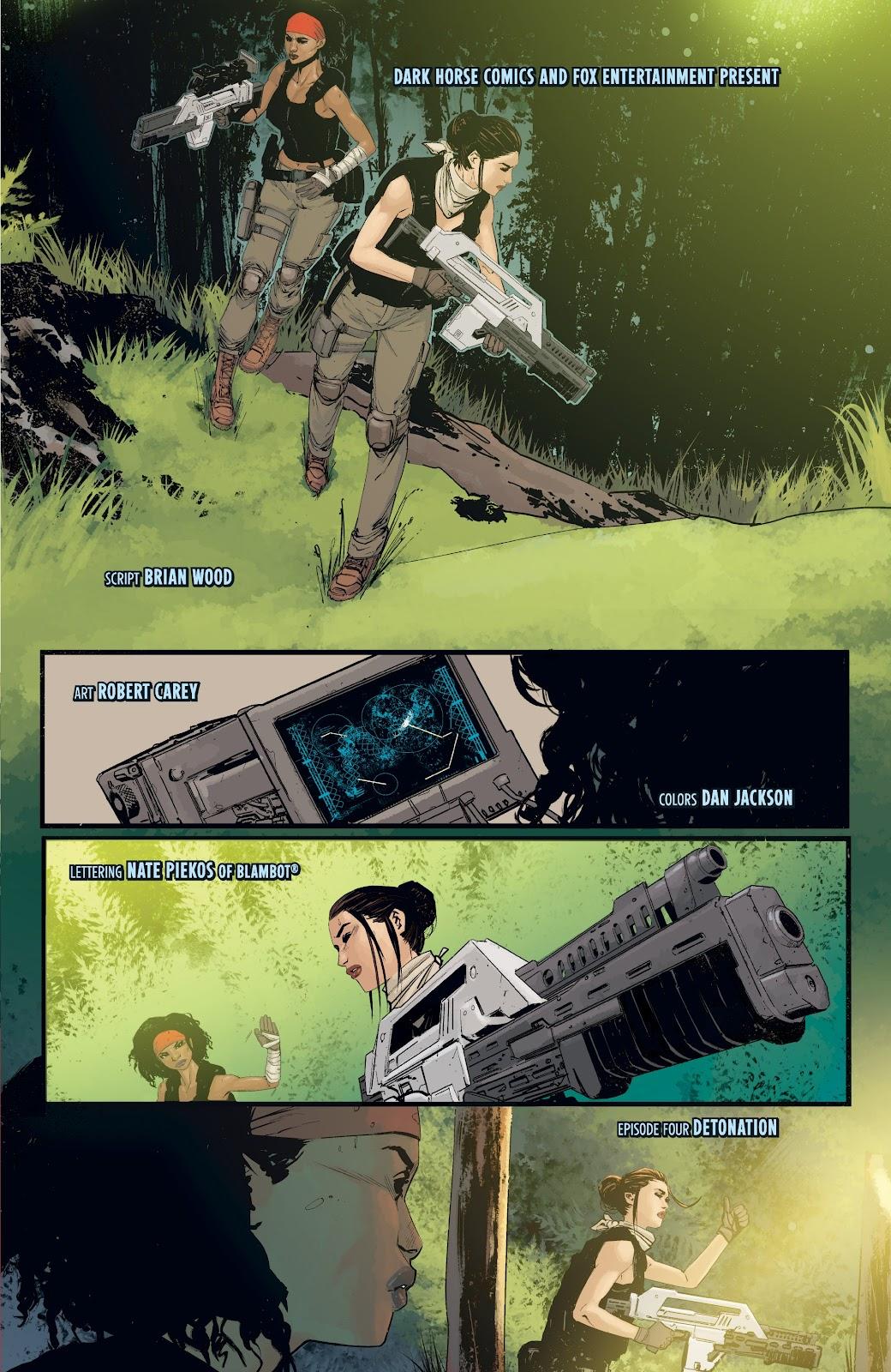Read online Aliens: Resistance comic -  Issue #4 - 7