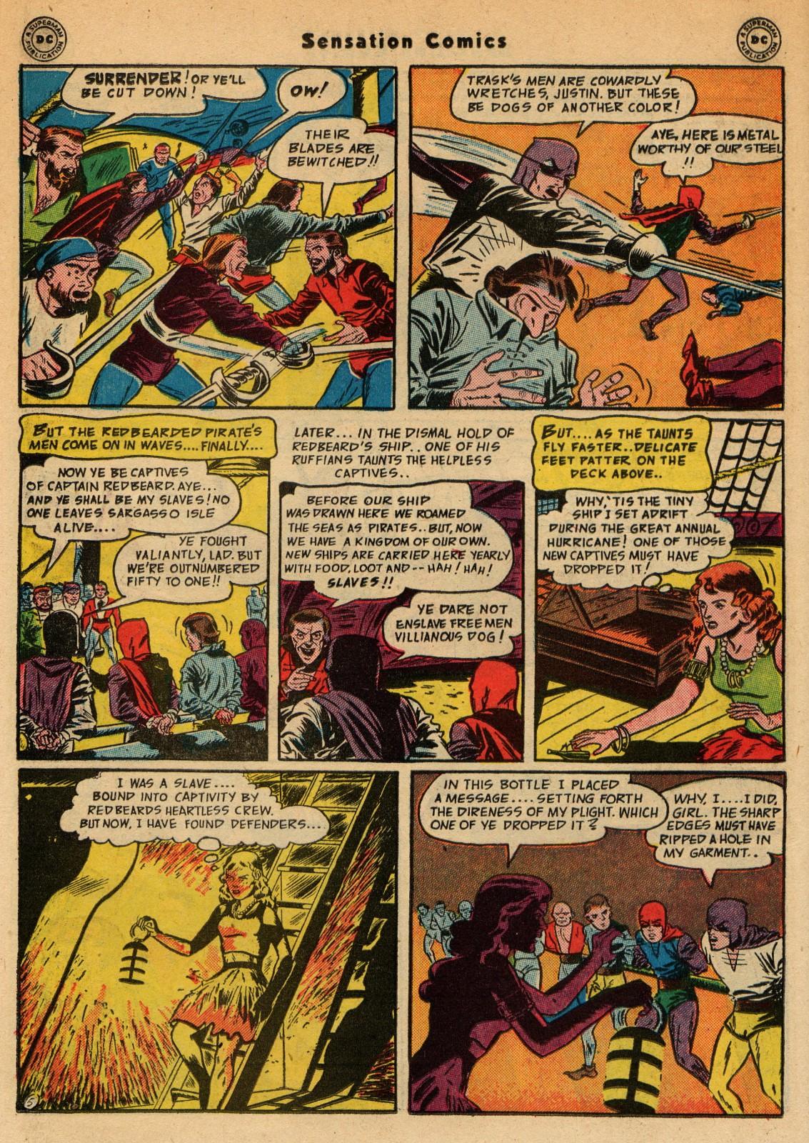 Read online Sensation (Mystery) Comics comic -  Issue #51 - 38