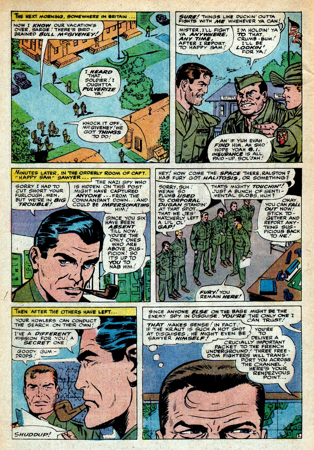 Read online Sgt. Fury comic -  Issue #85 - 4