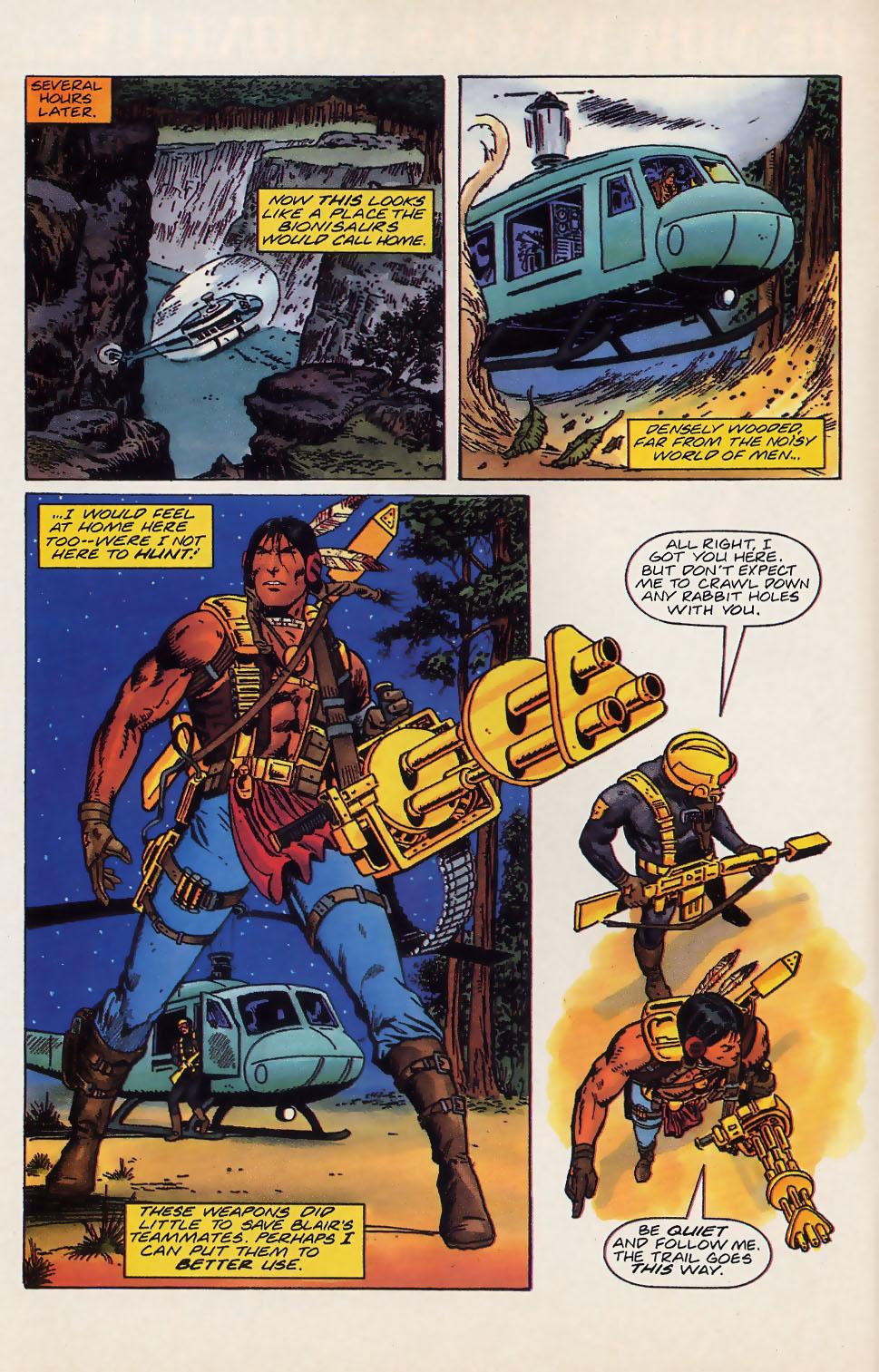 Read online Turok, Dinosaur Hunter (1993) comic -  Issue #18 - 9