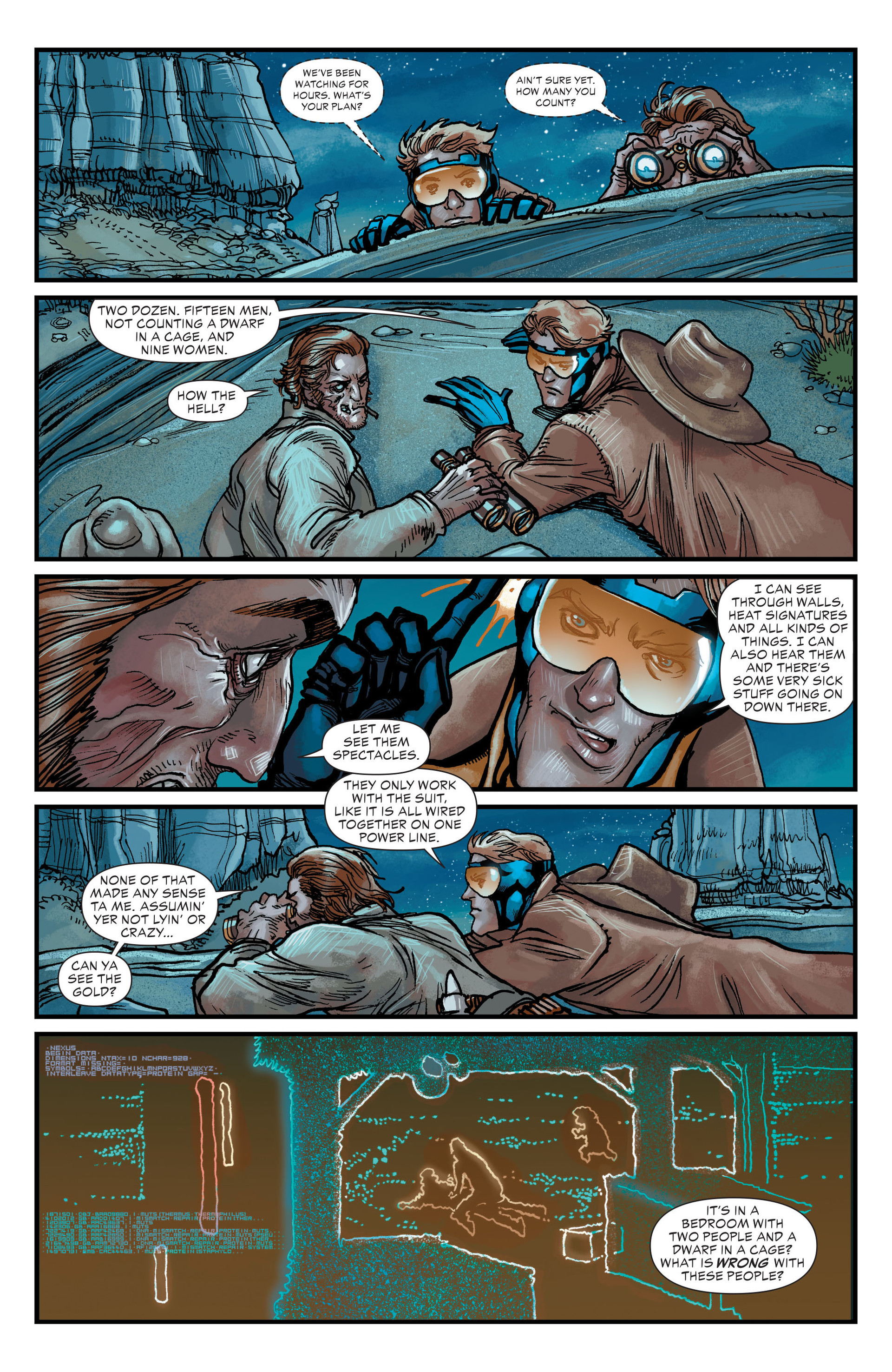 Read online All-Star Western (2011) comic -  Issue #20 - 12