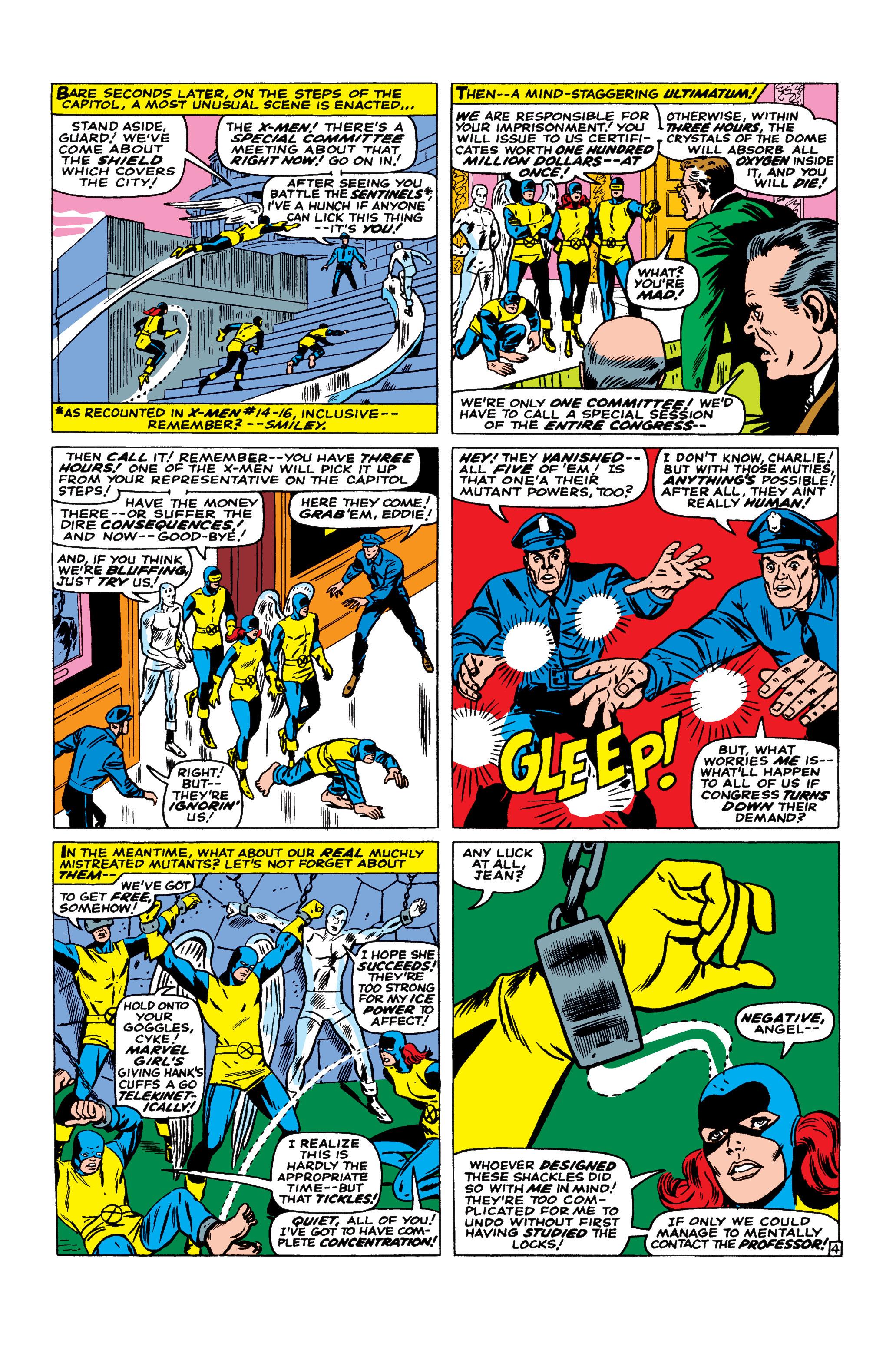 Read online Uncanny X-Men (1963) comic -  Issue #23 - 5