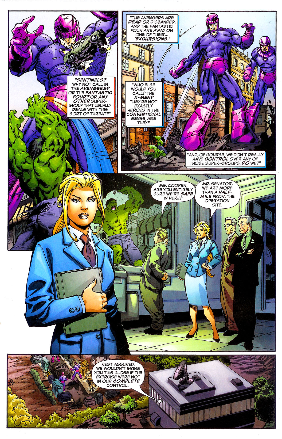 Read online Sentinel Squad O*N*E comic -  Issue #1 - 3