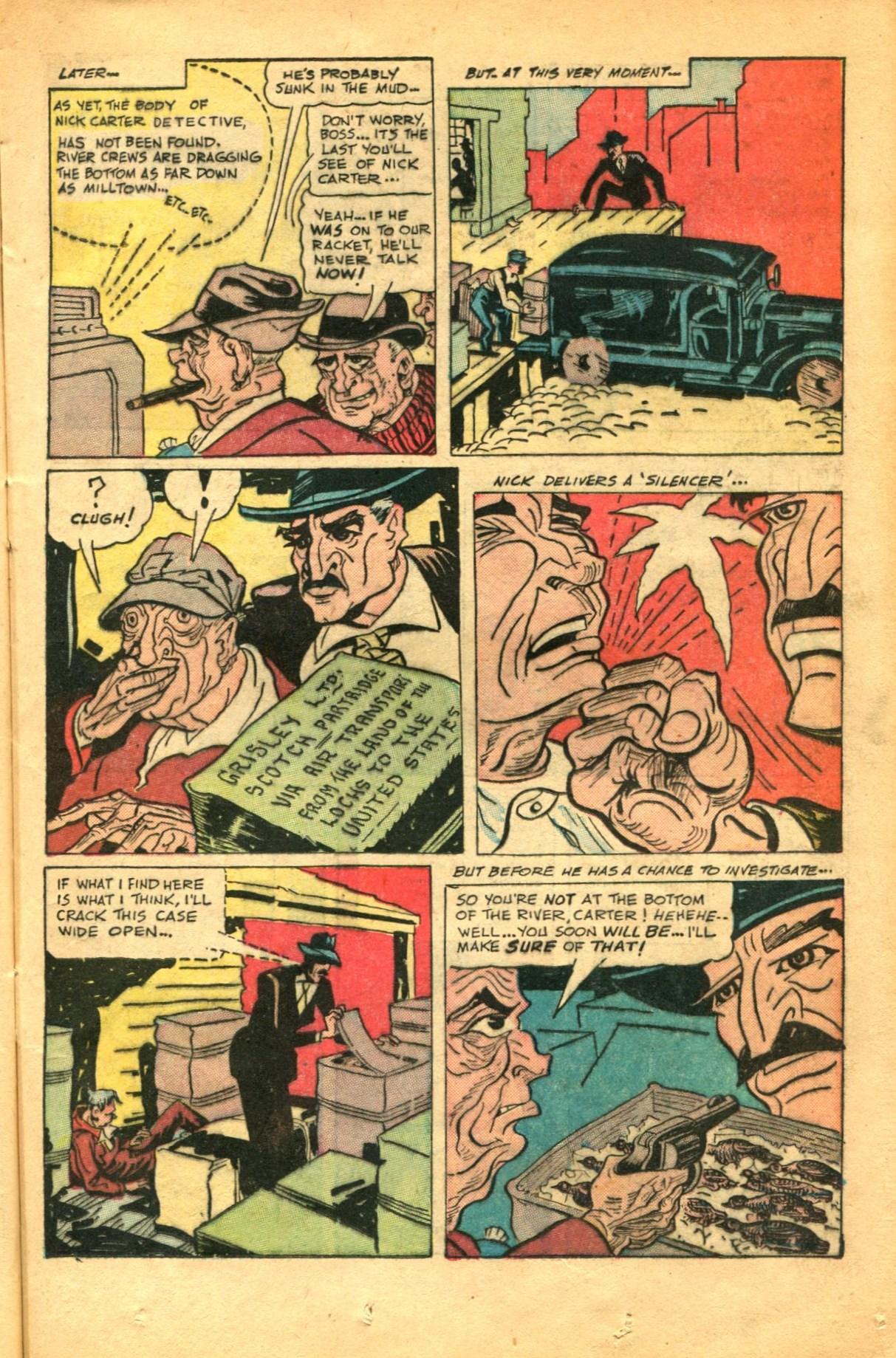 Read online Shadow Comics comic -  Issue #91 - 21