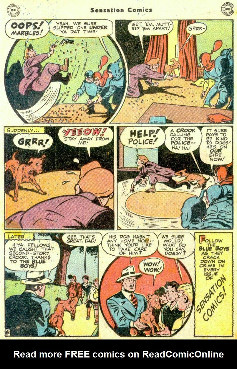 Read online Sensation (Mystery) Comics comic -  Issue #74 - 22