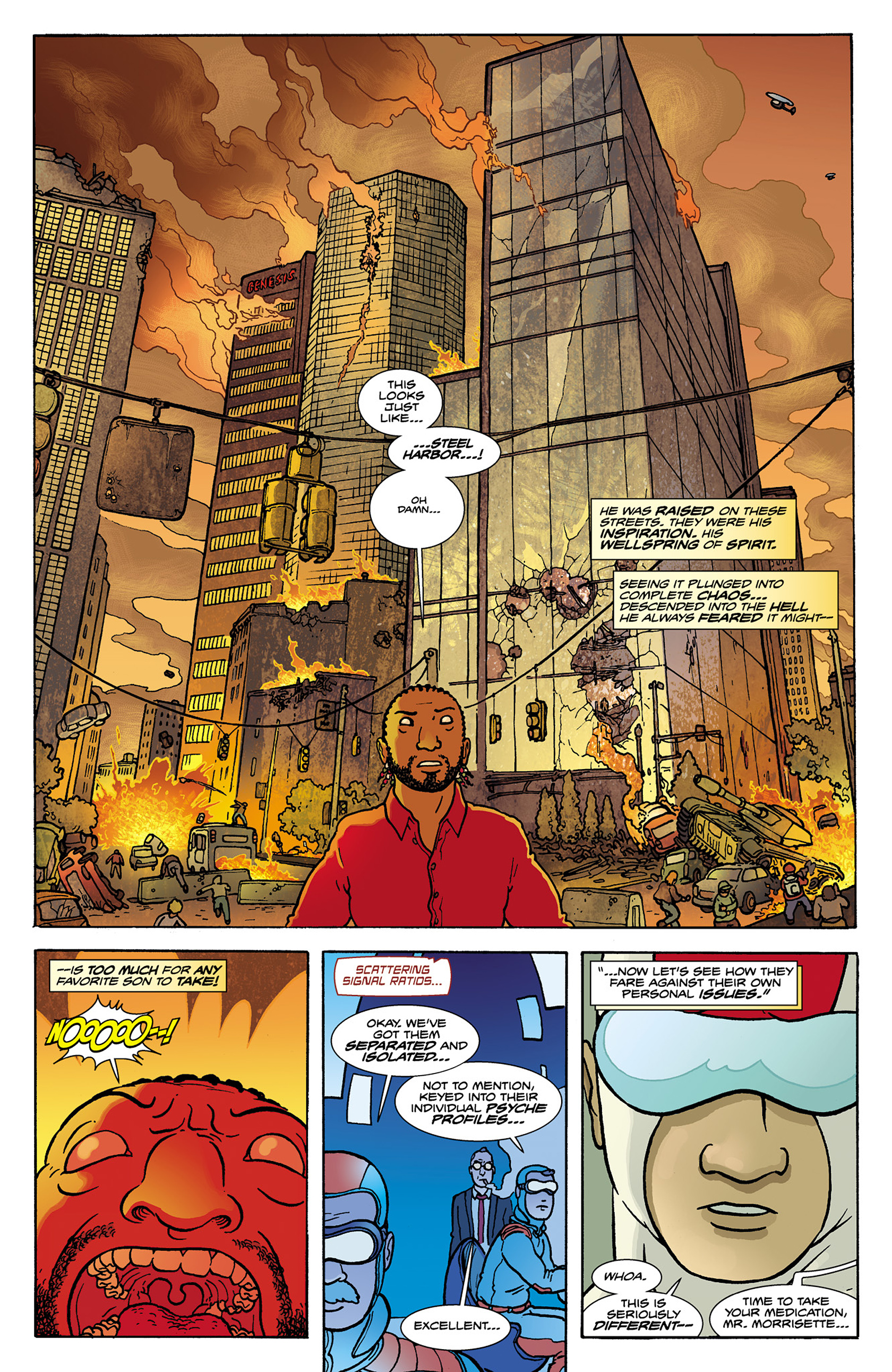 Read online Catalyst Comix comic -  Issue #8 - 13