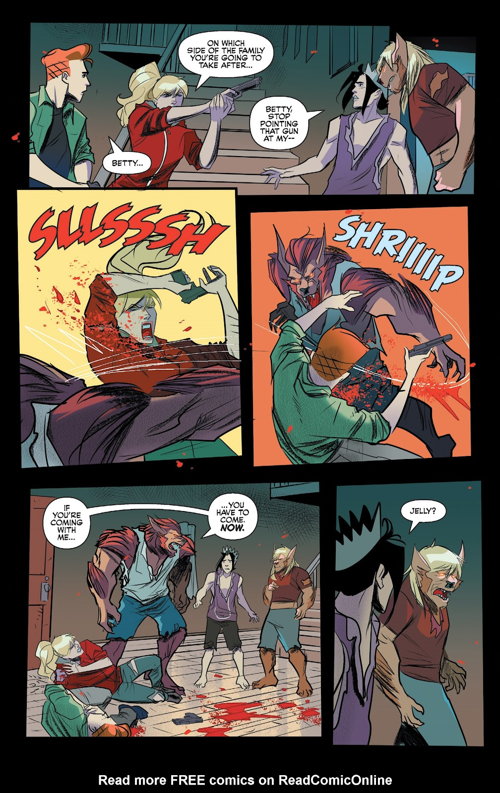 Read online Jughead The Hunger comic -  Issue #13 - 17