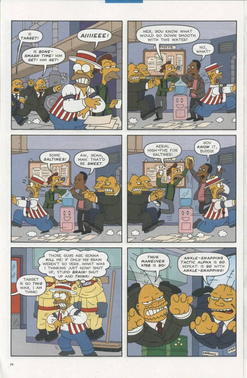 Read online Simpsons Comics comic -  Issue #67 - 15