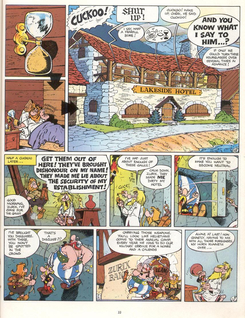 Read online Asterix comic -  Issue #16 - 30