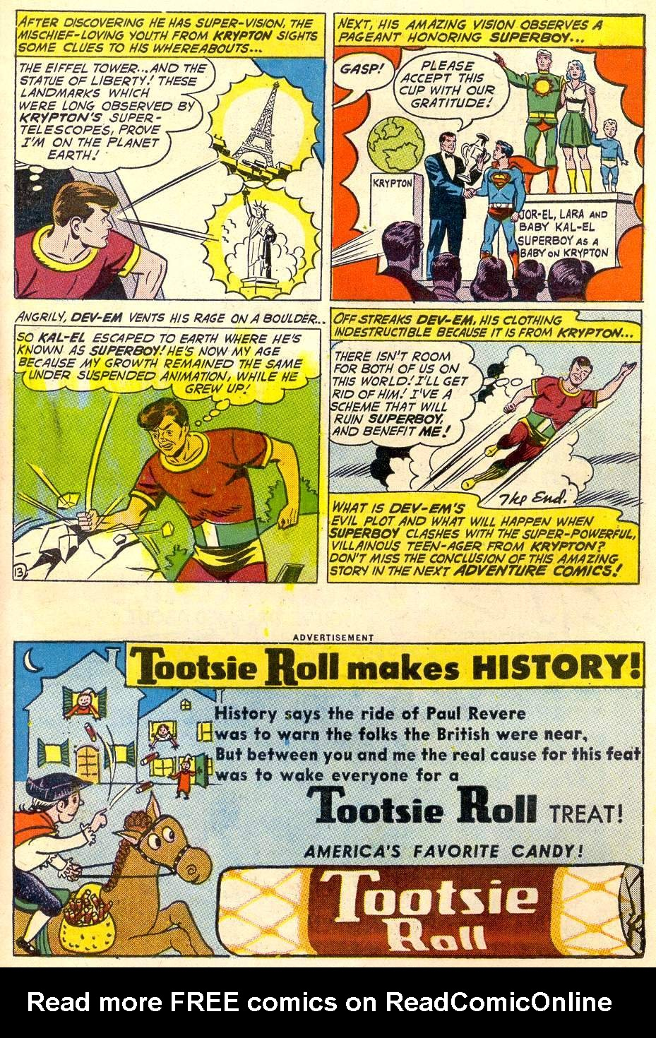 Read online Adventure Comics (1938) comic -  Issue #287 - 15