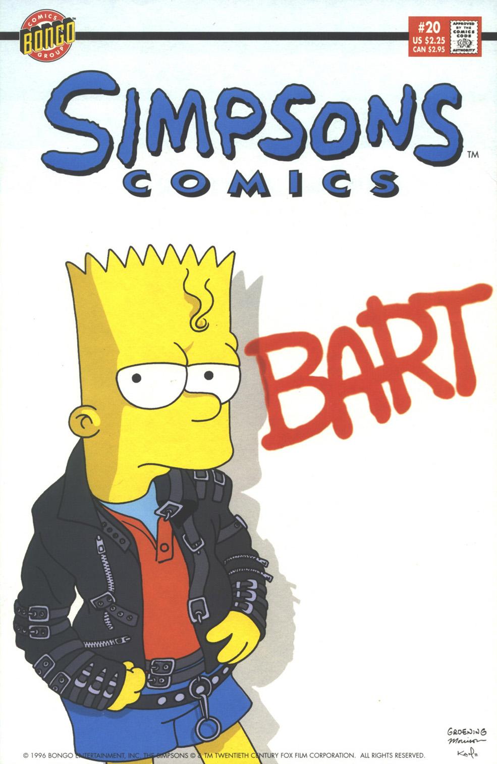 Read online Simpsons Comics comic -  Issue #20 - 1