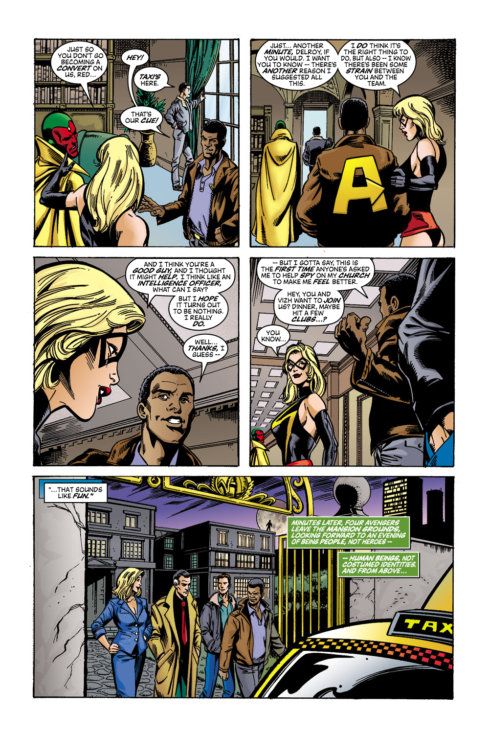 Read online Avengers (1998) comic -  Issue #45 - 16
