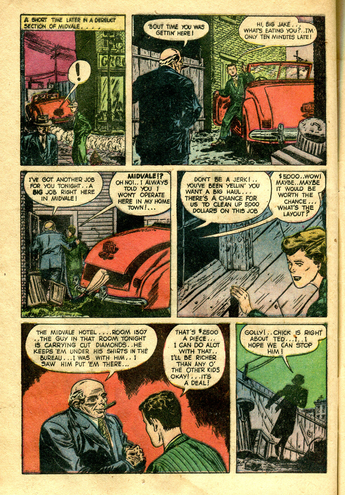 Read online Shadow Comics comic -  Issue #99 - 46