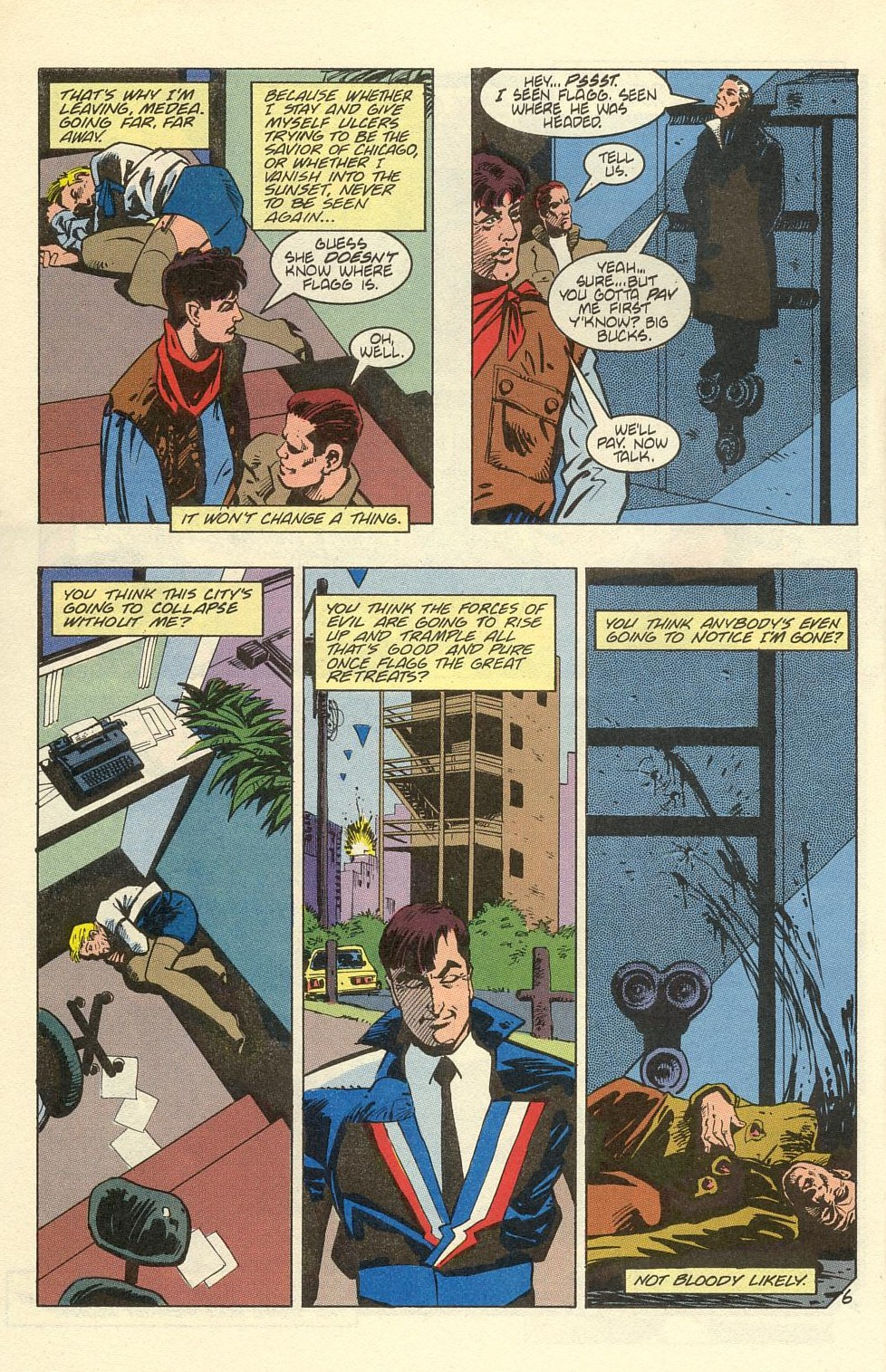Read online American Flagg! comic -  Issue #39 - 8