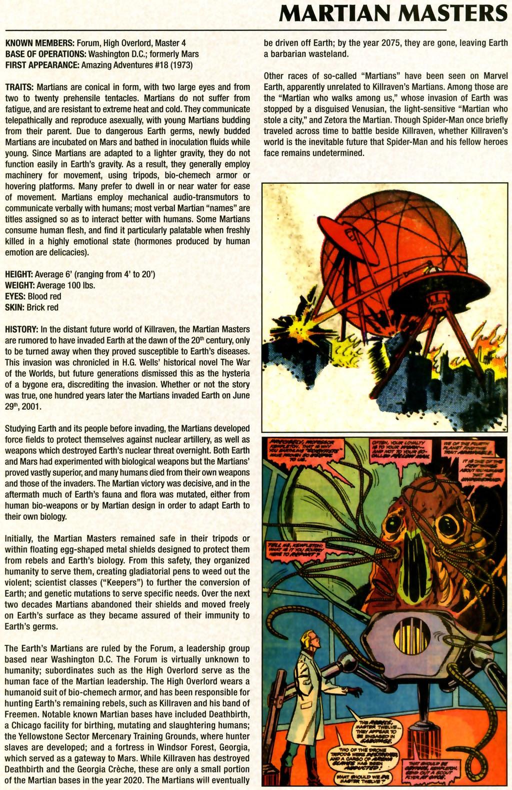 Read online Marvel Legacy: The 1970's Handbook comic -  Issue # Full - 39