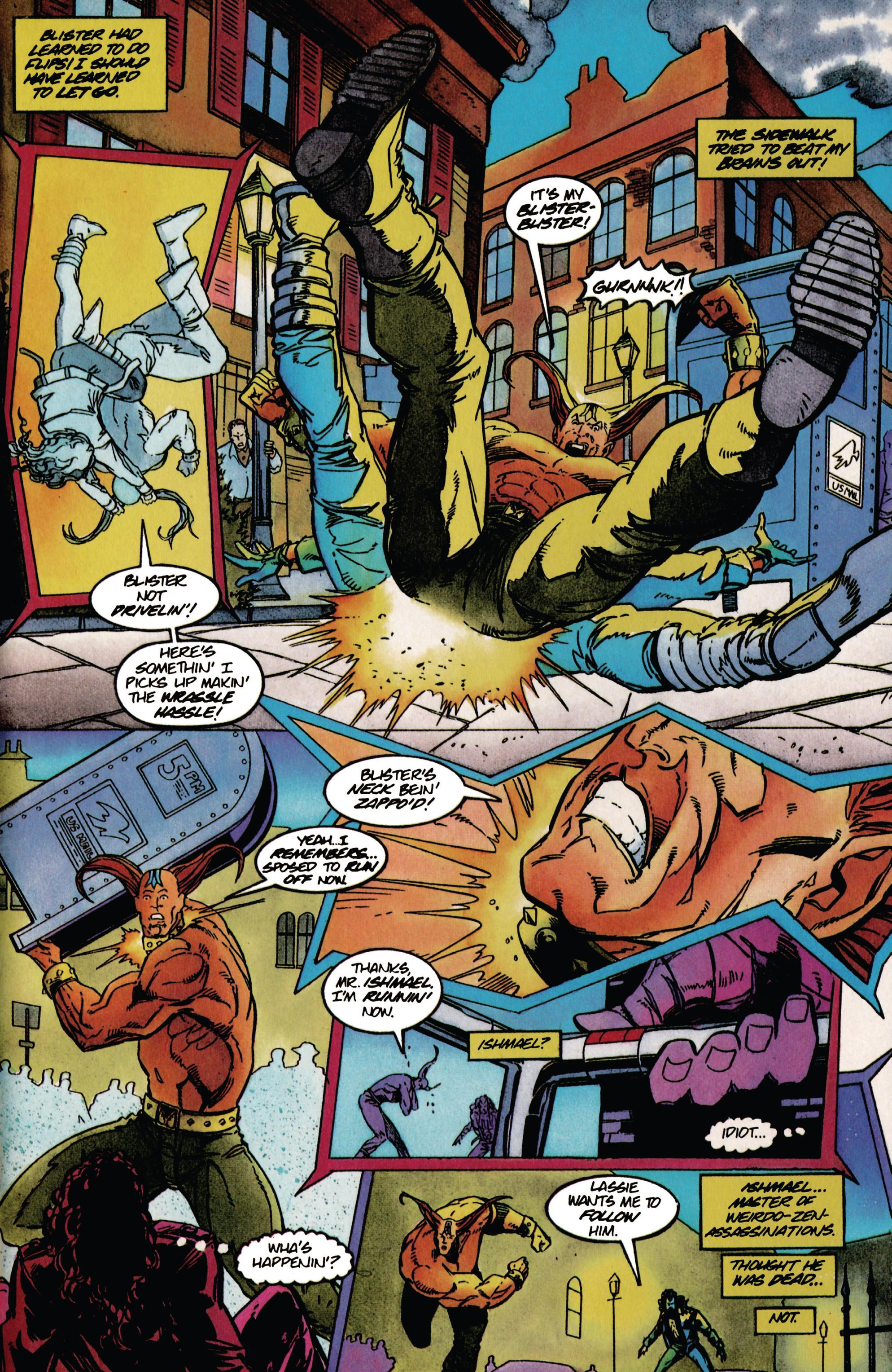 Read online Shadowman (1992) comic -  Issue #37 - 13