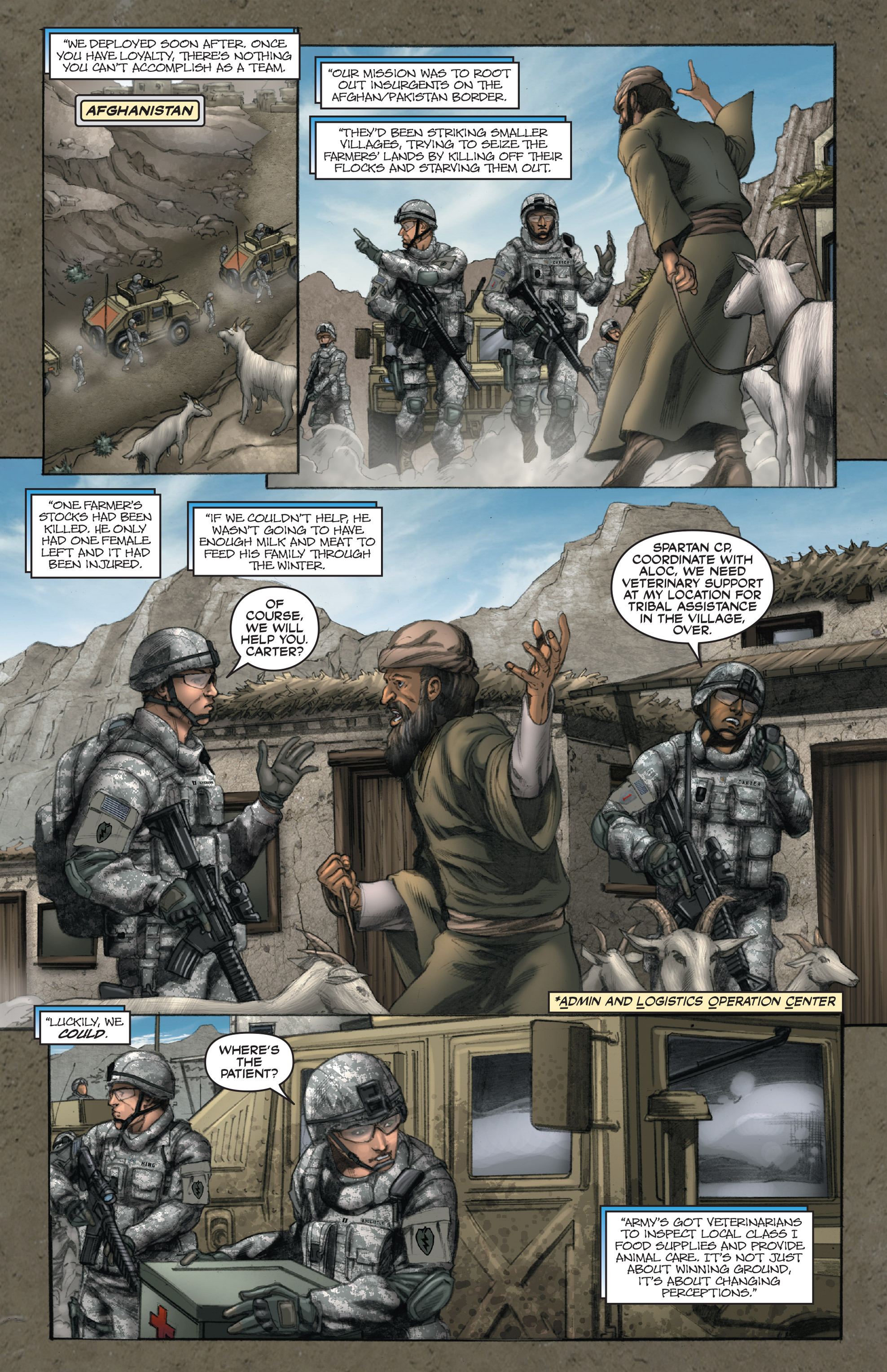 Read online America's Army comic -  Issue #14 - 9