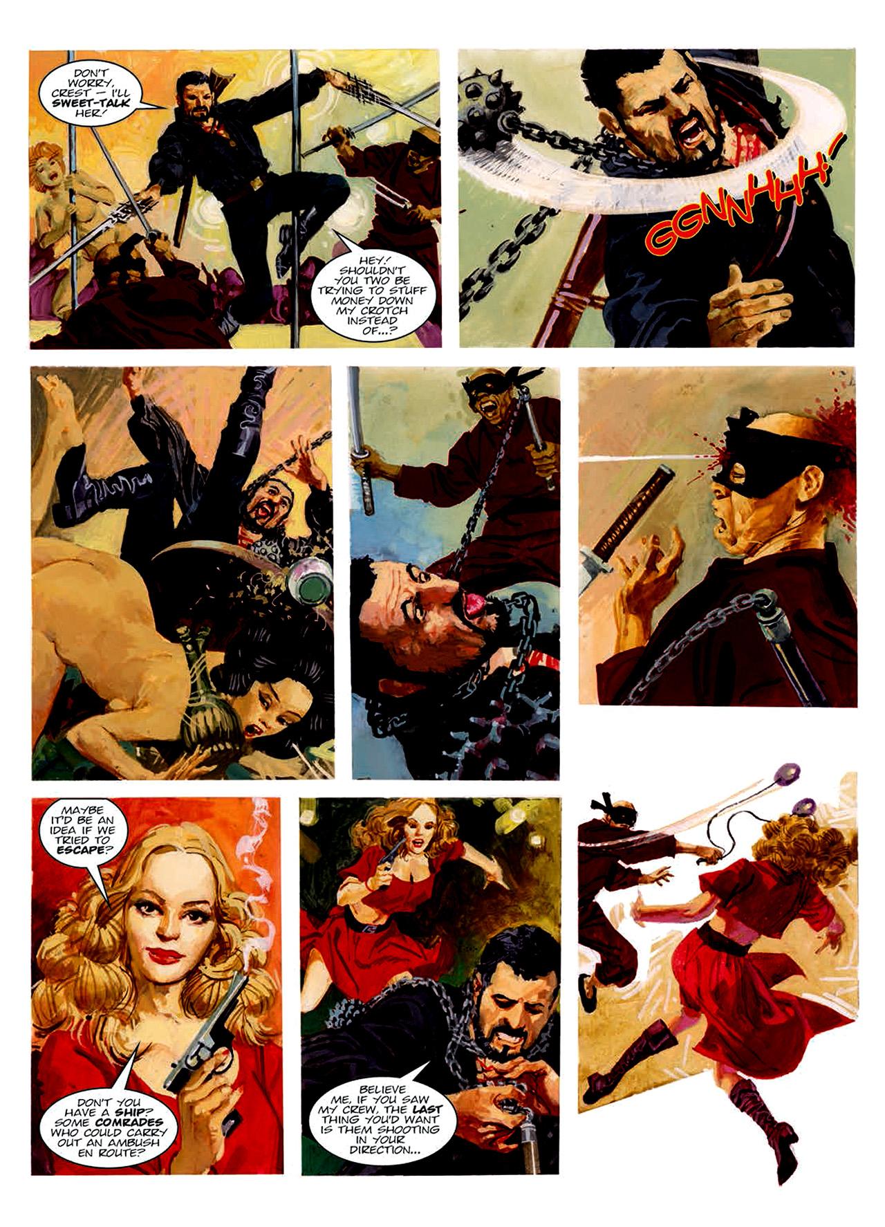 Read online Nikolai Dante comic -  Issue # TPB 6 - 165