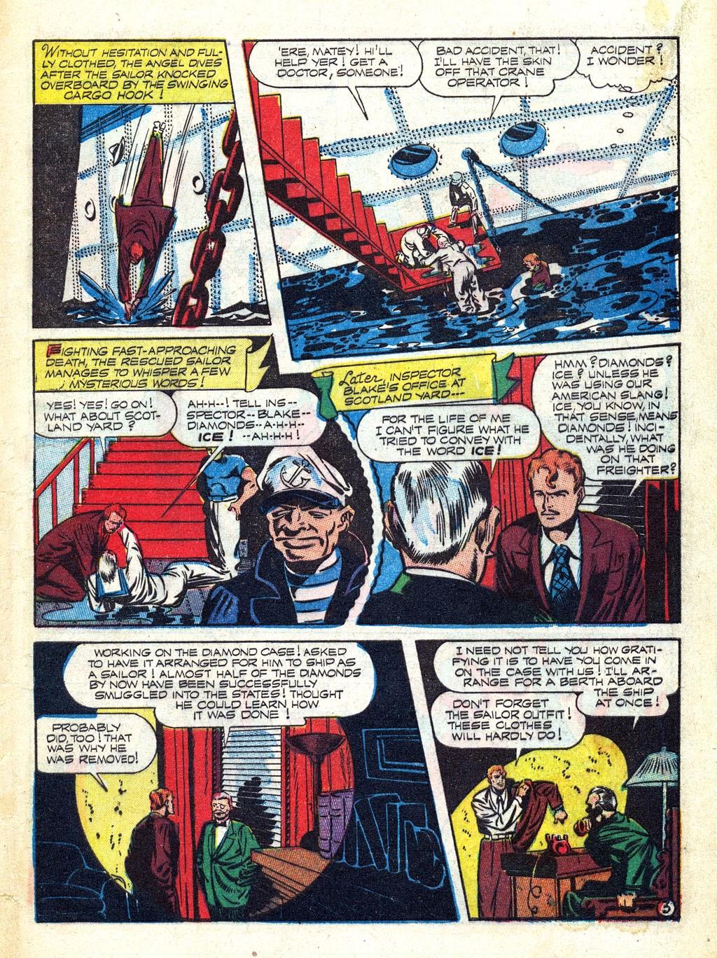 Read online Mystic Comics (1944) comic -  Issue #3 - 5