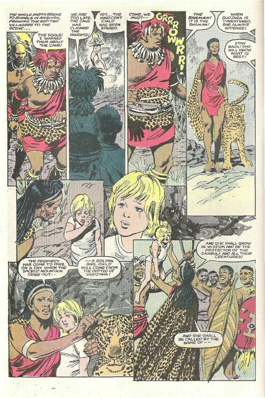 Read online Sheena comic -  Issue #1 - 5